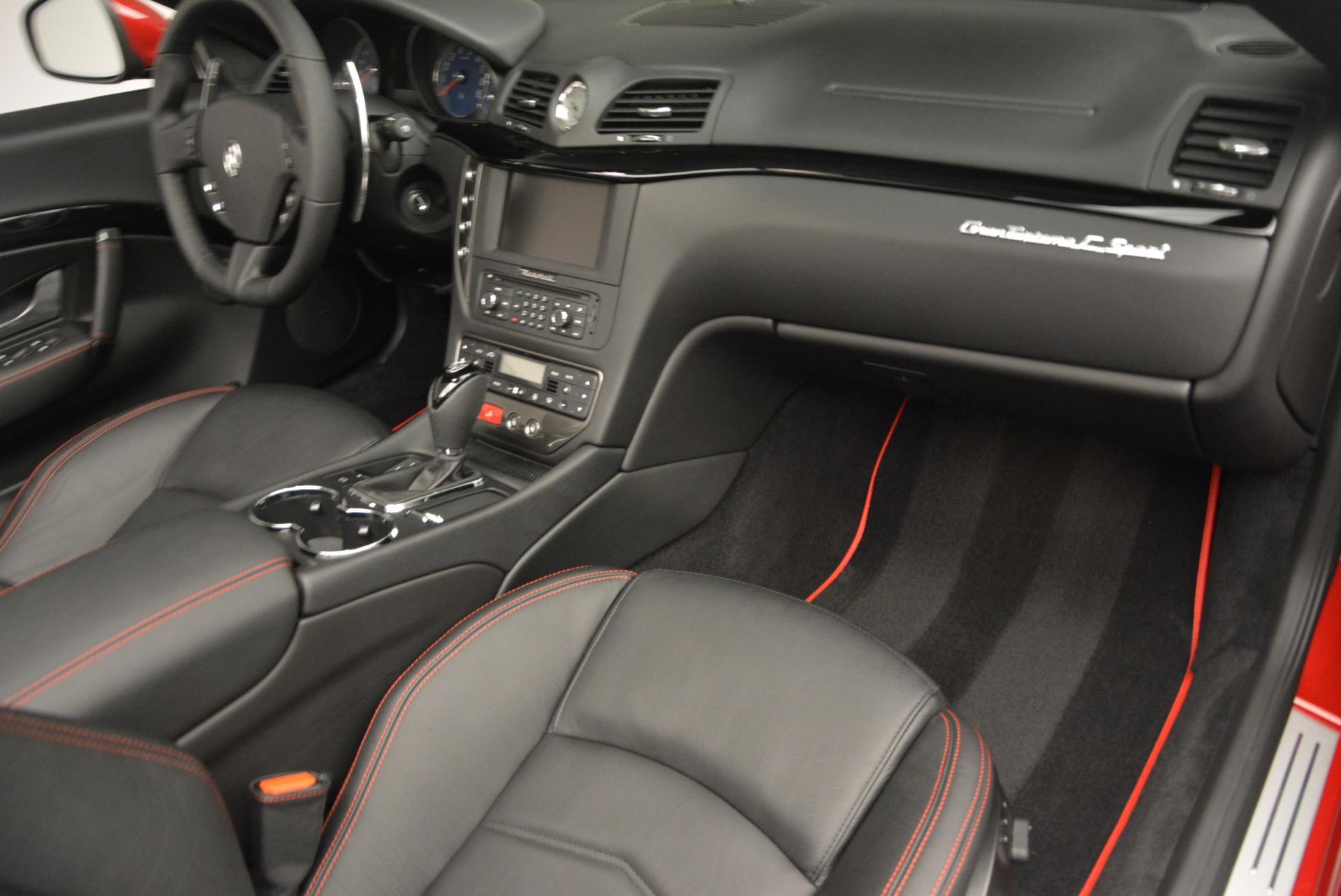 New 2017 Maserati GranTurismo Cab Sport For Sale In Greenwich, CT. Alfa Romeo of Greenwich, M1639 152_p25