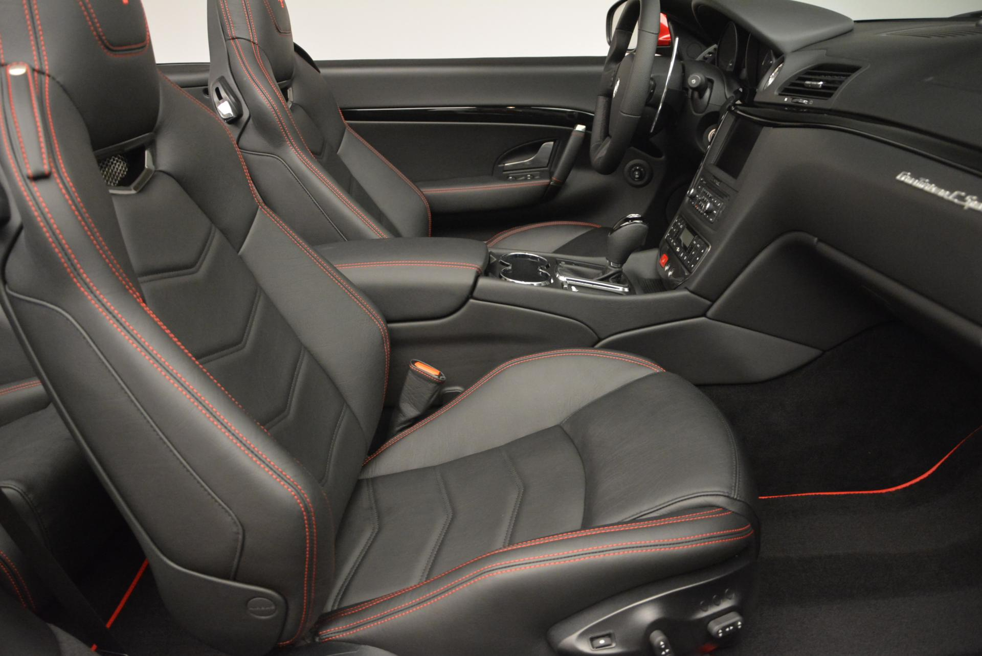 New 2017 Maserati GranTurismo Cab Sport For Sale In Greenwich, CT. Alfa Romeo of Greenwich, M1639 152_p26