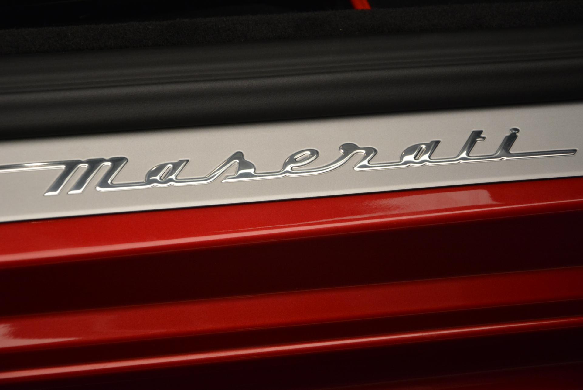 New 2017 Maserati GranTurismo Cab Sport For Sale In Greenwich, CT. Alfa Romeo of Greenwich, M1639 152_p28