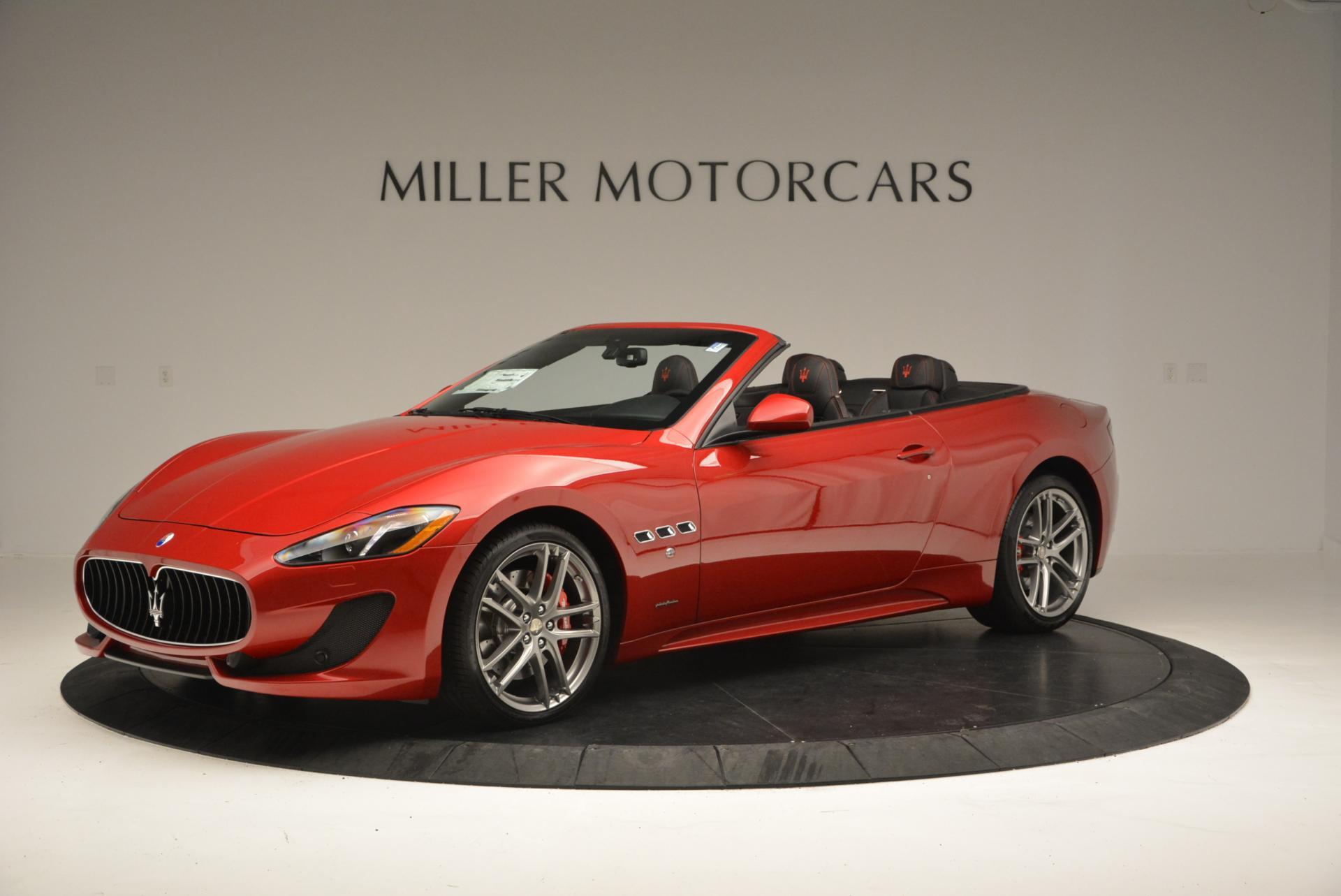 New 2017 Maserati GranTurismo Cab Sport For Sale In Greenwich, CT. Alfa Romeo of Greenwich, M1639 152_p2