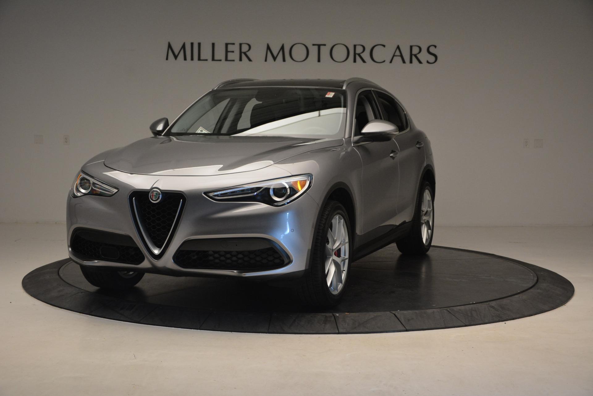 New 2018 Alfa Romeo Stelvio Q4 For Sale In Greenwich, CT. Alfa Romeo of Greenwich, L219 1523_main