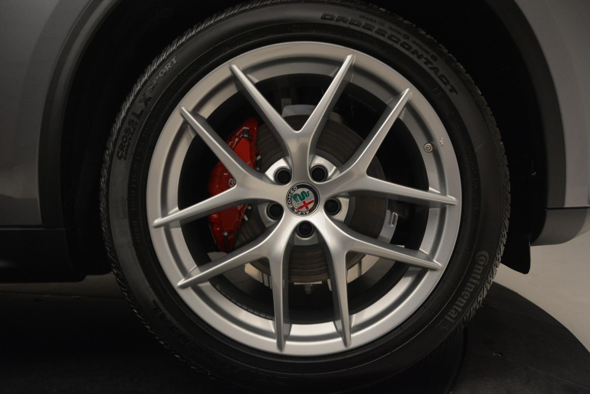 New 2018 Alfa Romeo Stelvio Q4 For Sale In Greenwich, CT. Alfa Romeo of Greenwich, L219 1523_p25