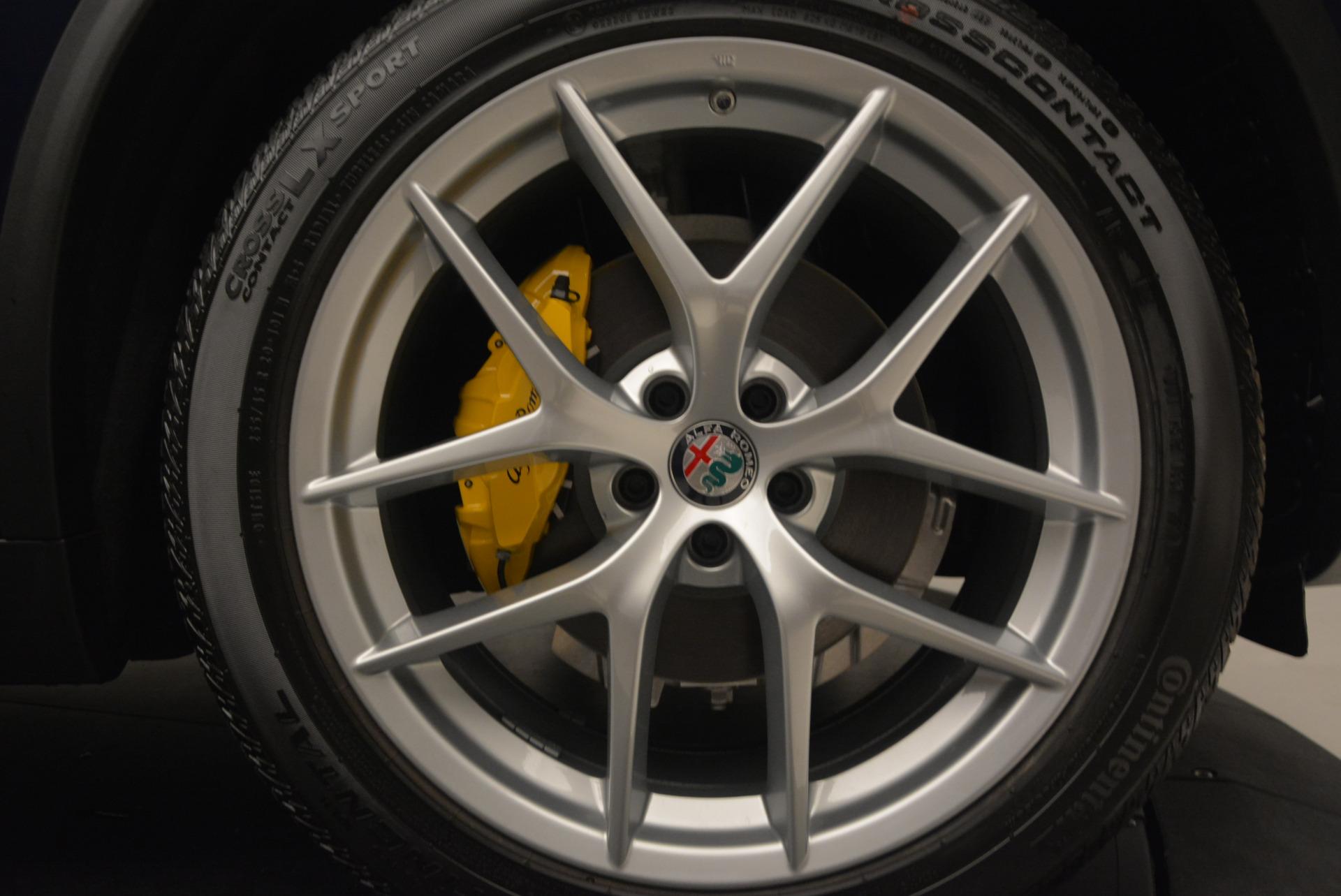 New 2018 Alfa Romeo Stelvio Ti Q4 For Sale In Greenwich, CT. Alfa Romeo of Greenwich, LW034 1527_p25