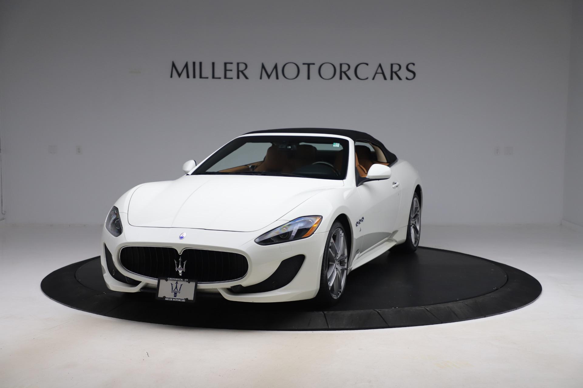 New 2017 Maserati GranTurismo Convertible Sport For Sale In Greenwich, CT. Alfa Romeo of Greenwich, M1640 153_p13