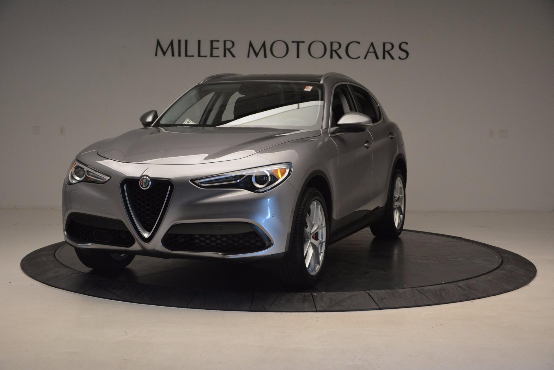 New 2018 Alfa Romeo Stelvio Q4 For Sale In Greenwich, CT. Alfa Romeo of Greenwich, LW031 1530_main
