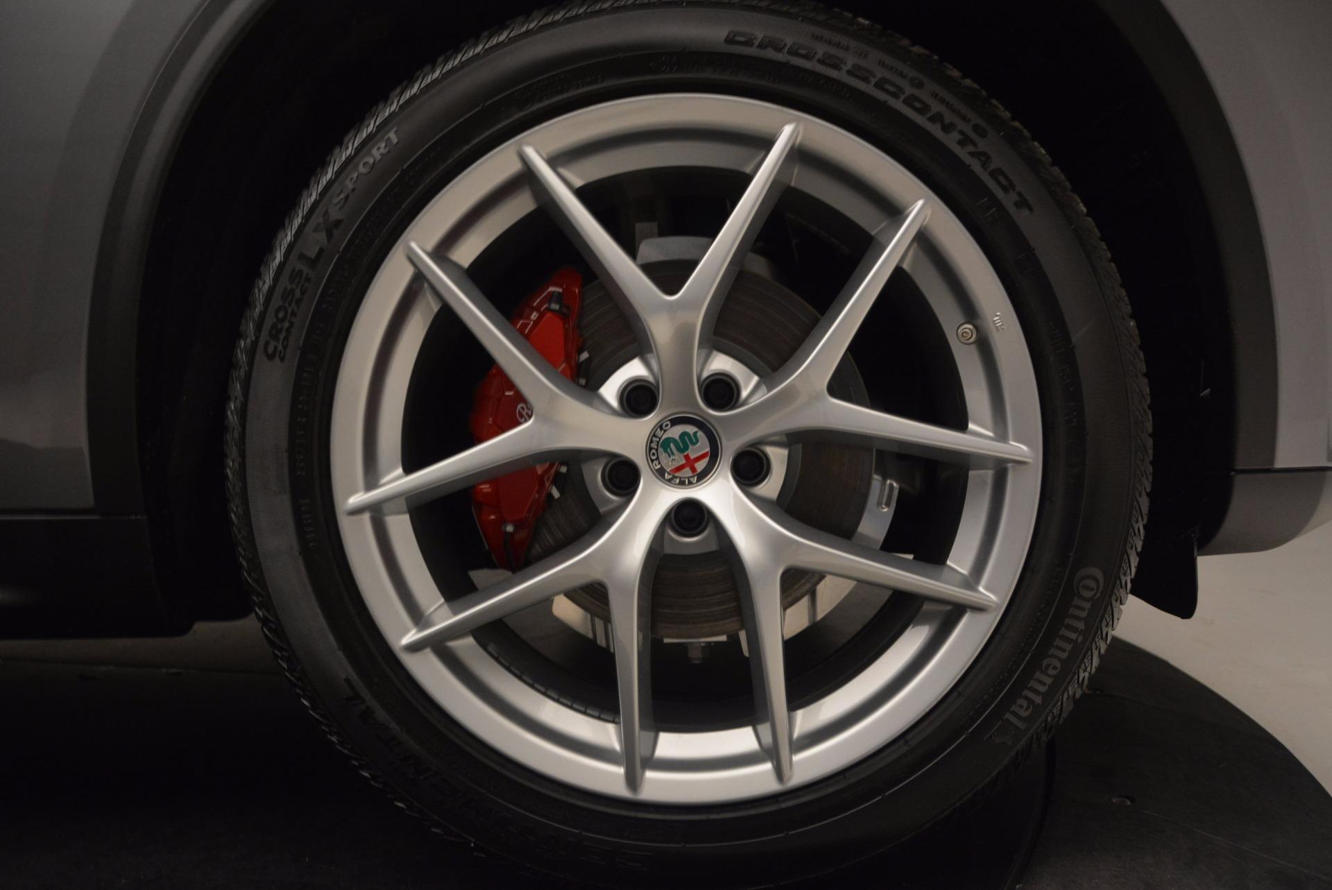 New 2018 Alfa Romeo Stelvio Q4 For Sale In Greenwich, CT. Alfa Romeo of Greenwich, LW031 1530_p25
