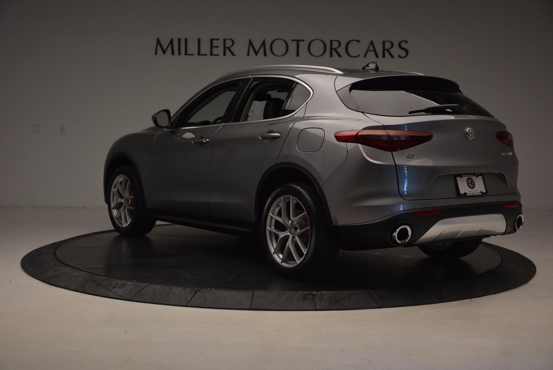 New 2018 Alfa Romeo Stelvio Q4 For Sale In Greenwich, CT. Alfa Romeo of Greenwich, LW031 1530_p5