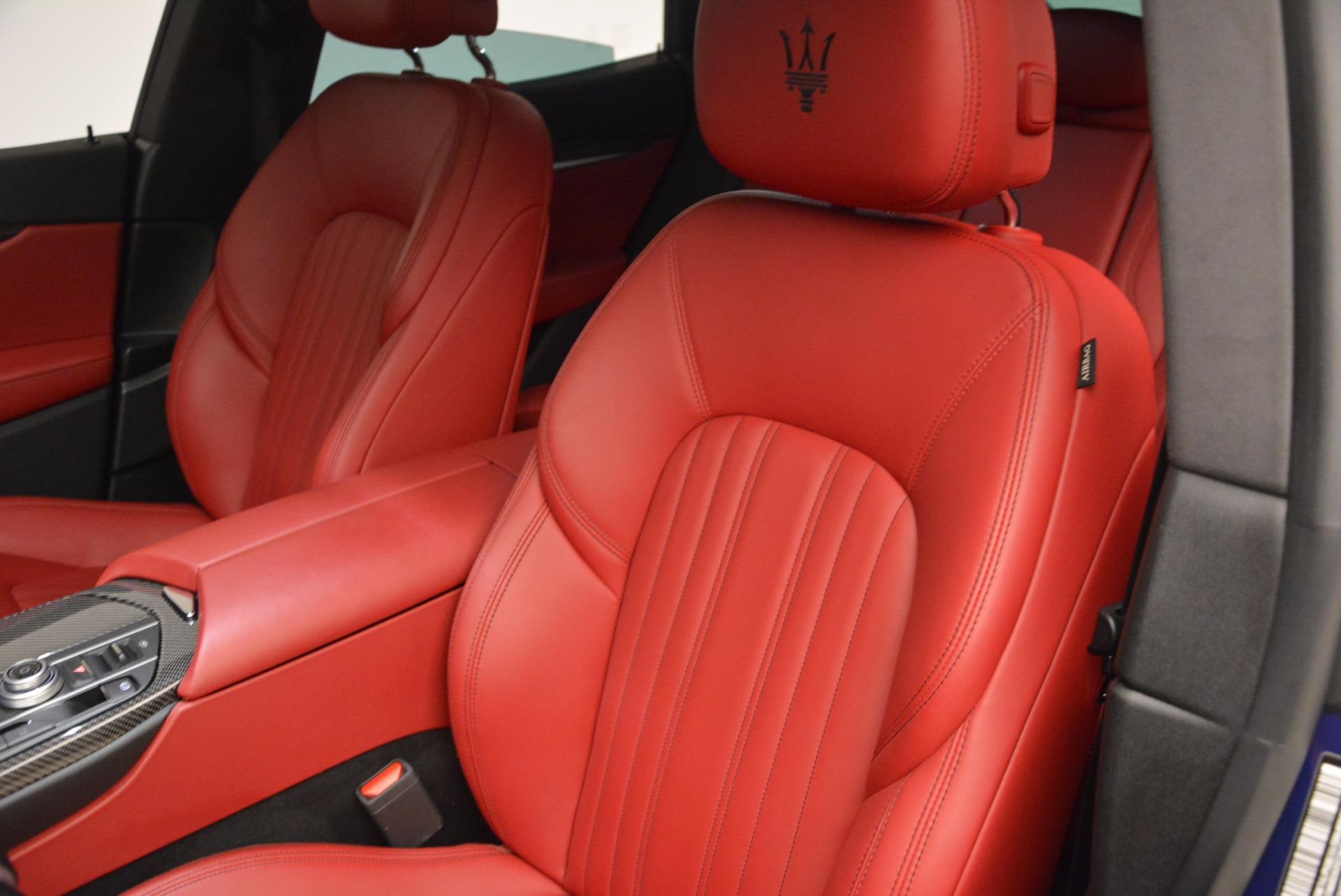 Used 2017 Maserati Levante S Q4 For Sale In Greenwich, CT. Alfa Romeo of Greenwich, B1271A 1533_p16