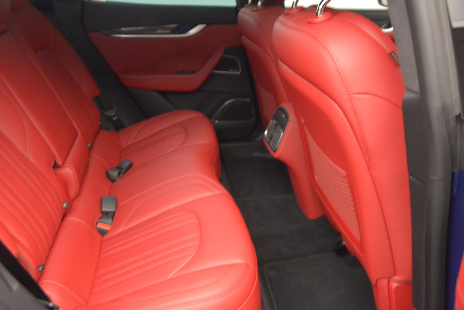 Used 2017 Maserati Levante S Q4 For Sale In Greenwich, CT. Alfa Romeo of Greenwich, B1271A 1533_p21