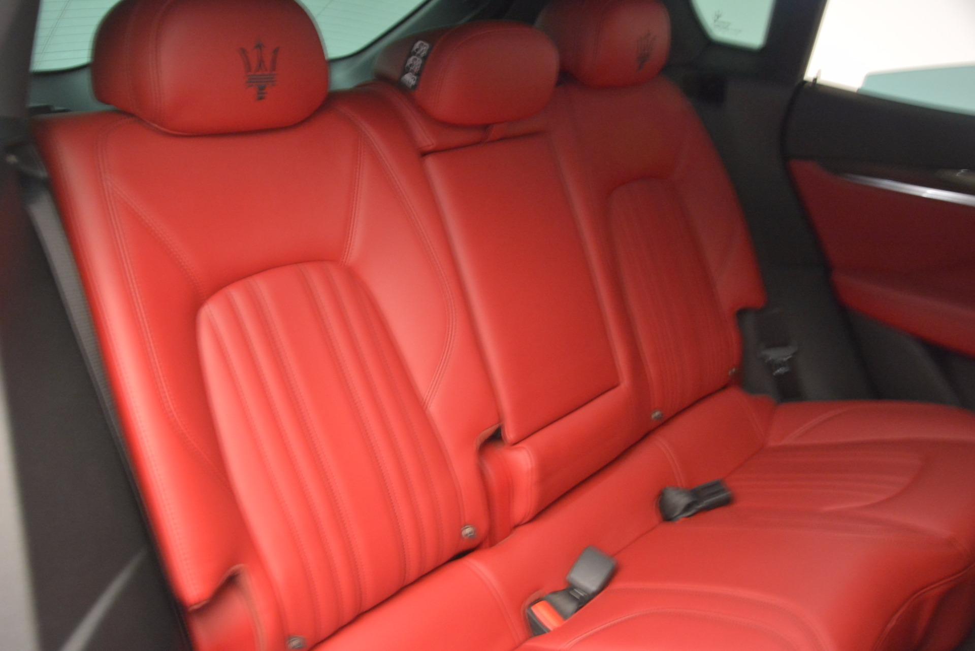 Used 2017 Maserati Levante S Q4 For Sale In Greenwich, CT. Alfa Romeo of Greenwich, B1271A 1533_p22