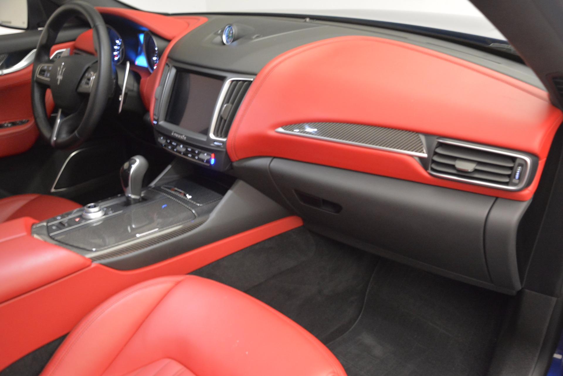 Used 2017 Maserati Levante S Q4 For Sale In Greenwich, CT. Alfa Romeo of Greenwich, B1271A 1533_p23
