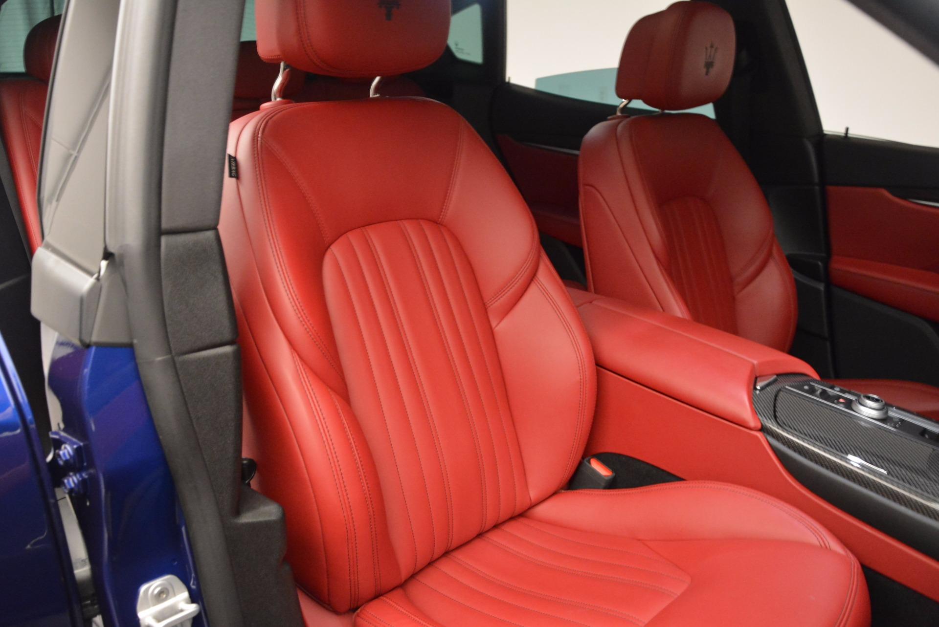 Used 2017 Maserati Levante S Q4 For Sale In Greenwich, CT. Alfa Romeo of Greenwich, B1271A 1533_p25