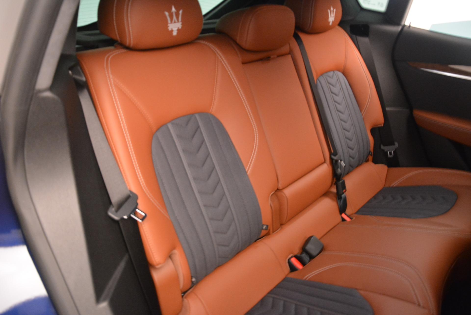 New 2018 Maserati Levante Q4 GranLusso For Sale In Greenwich, CT. Alfa Romeo of Greenwich, M2016 1536_p21