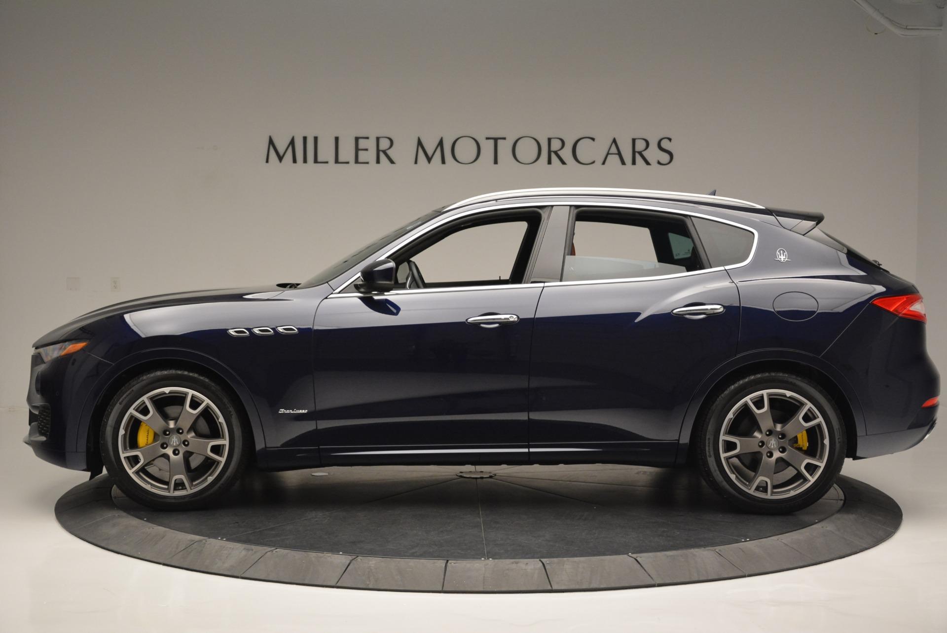 New 2018 Maserati Levante Q4 GranLusso For Sale In Greenwich, CT. Alfa Romeo of Greenwich, M2016 1536_p3