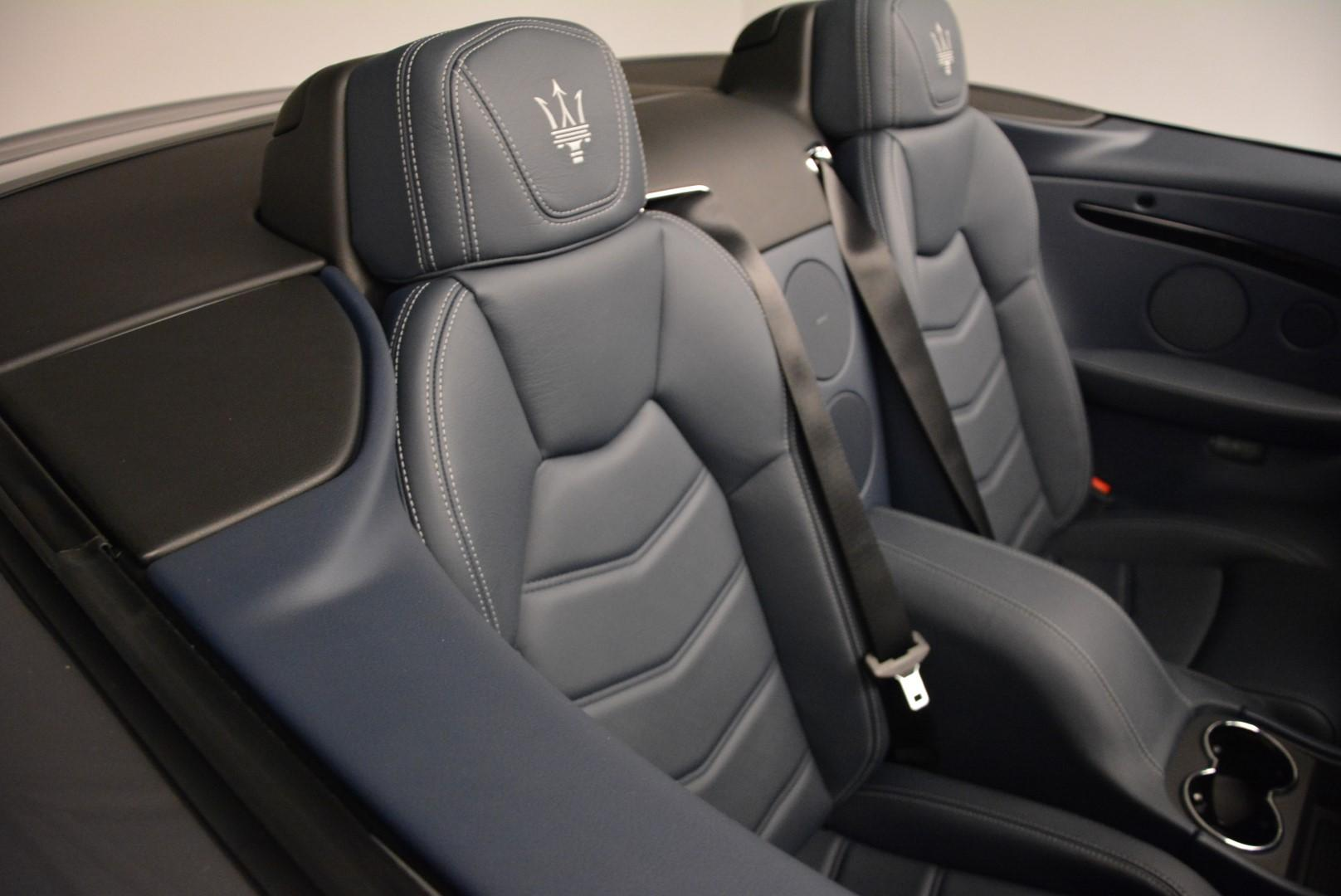 New 2016 Maserati GranTurismo Convertible Sport For Sale In Greenwich, CT. Alfa Romeo of Greenwich, M1455 154_p31