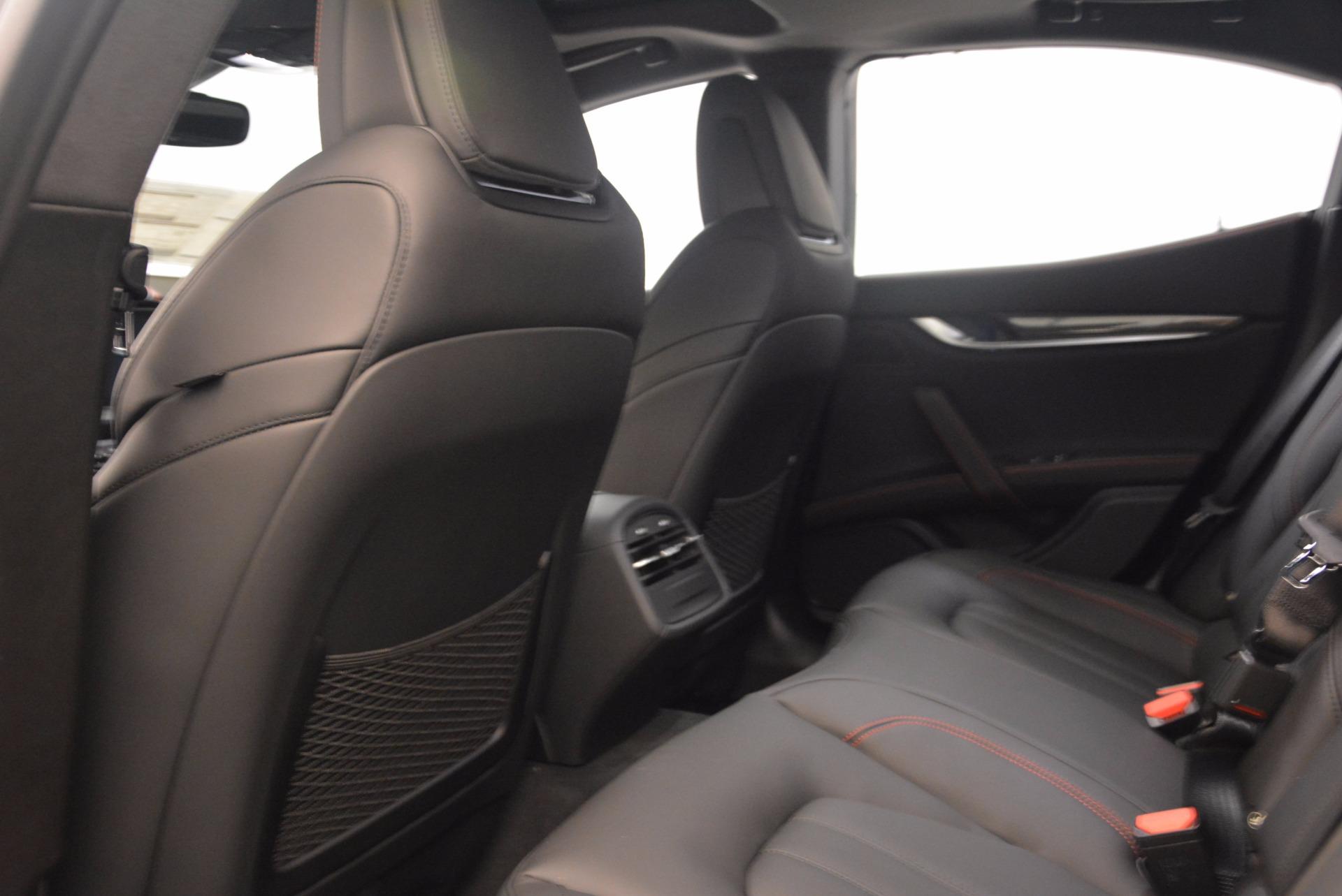 New 2018 Maserati Ghibli S Q4 GranSport For Sale In Greenwich, CT. Alfa Romeo of Greenwich, W492 1541_p20