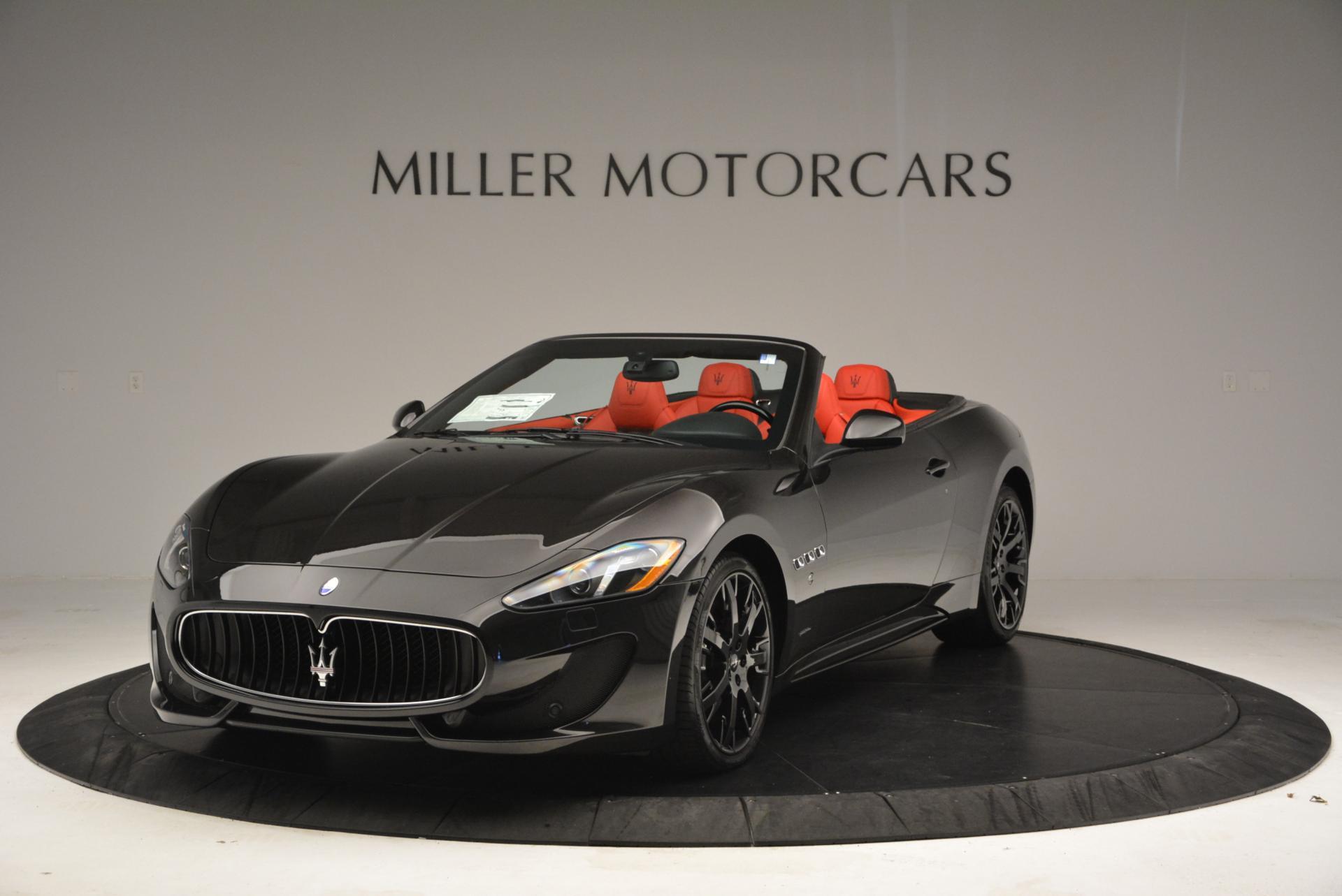 New 2016 Maserati GranTurismo Convertible Sport For Sale In Greenwich, CT. Alfa Romeo of Greenwich, M1454 155_main