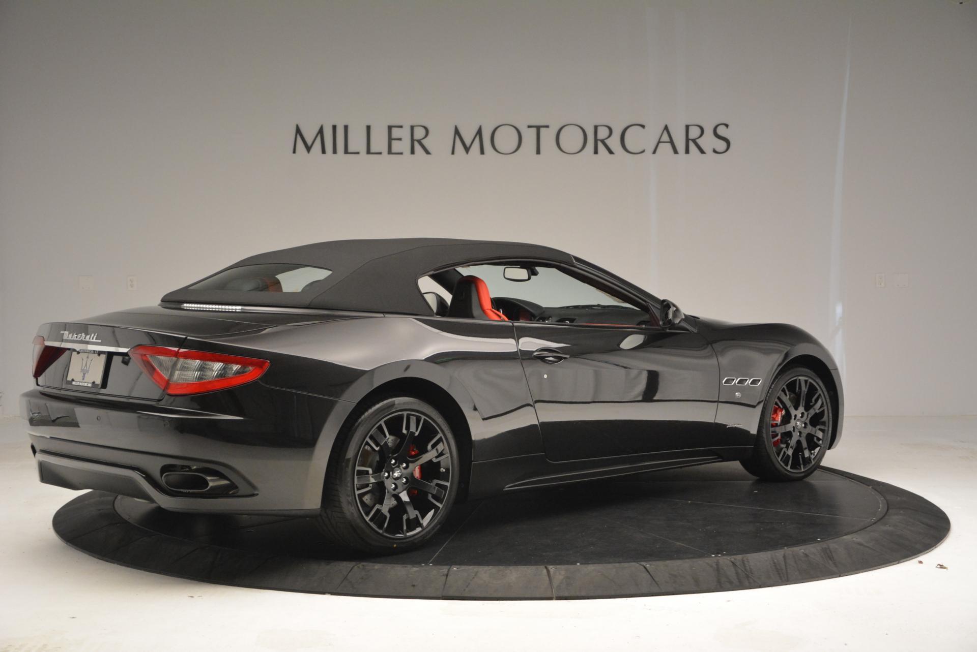 New 2016 Maserati GranTurismo Convertible Sport For Sale In Greenwich, CT. Alfa Romeo of Greenwich, M1454 155_p16