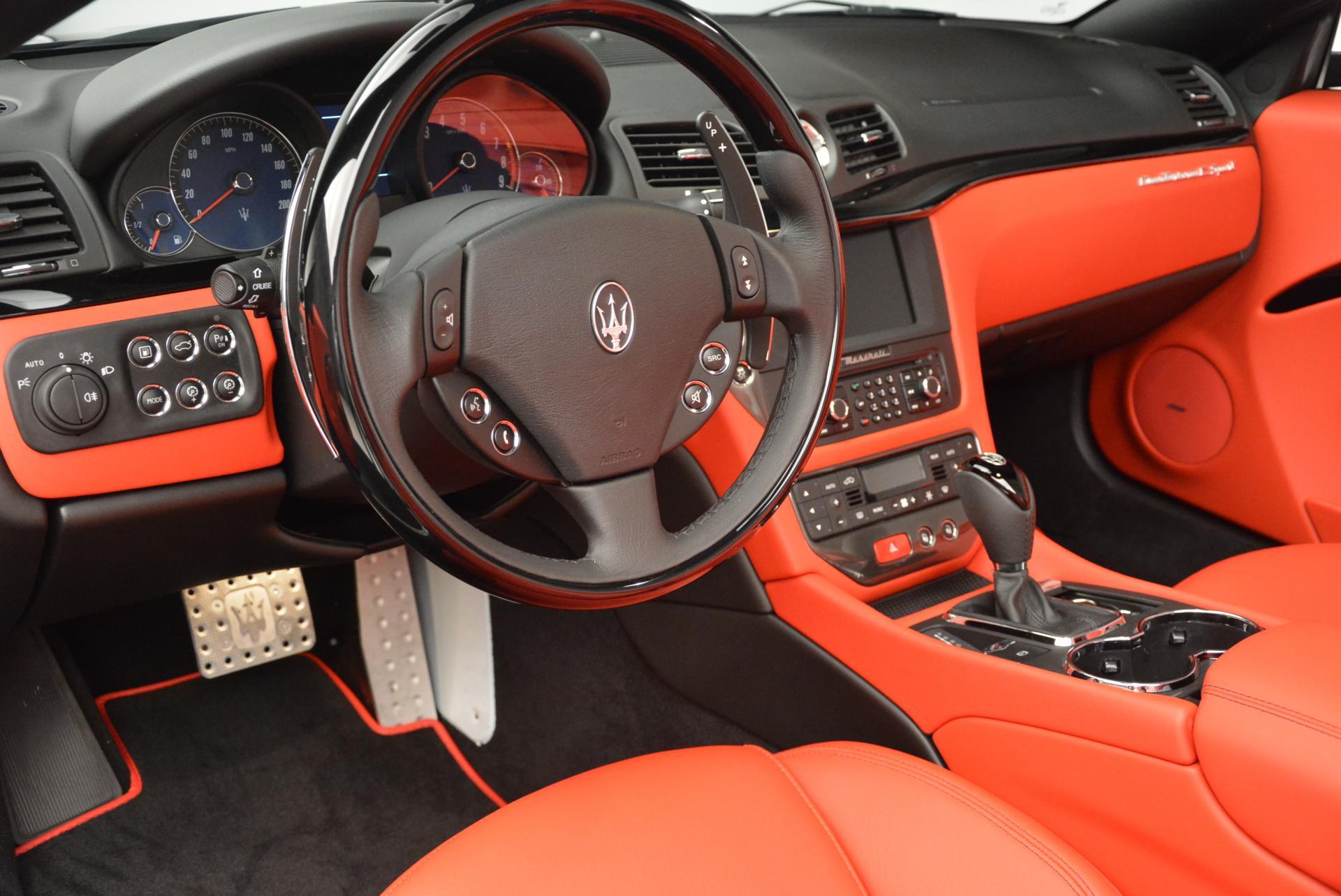 New 2016 Maserati GranTurismo Convertible Sport For Sale In Greenwich, CT. Alfa Romeo of Greenwich, M1454 155_p25