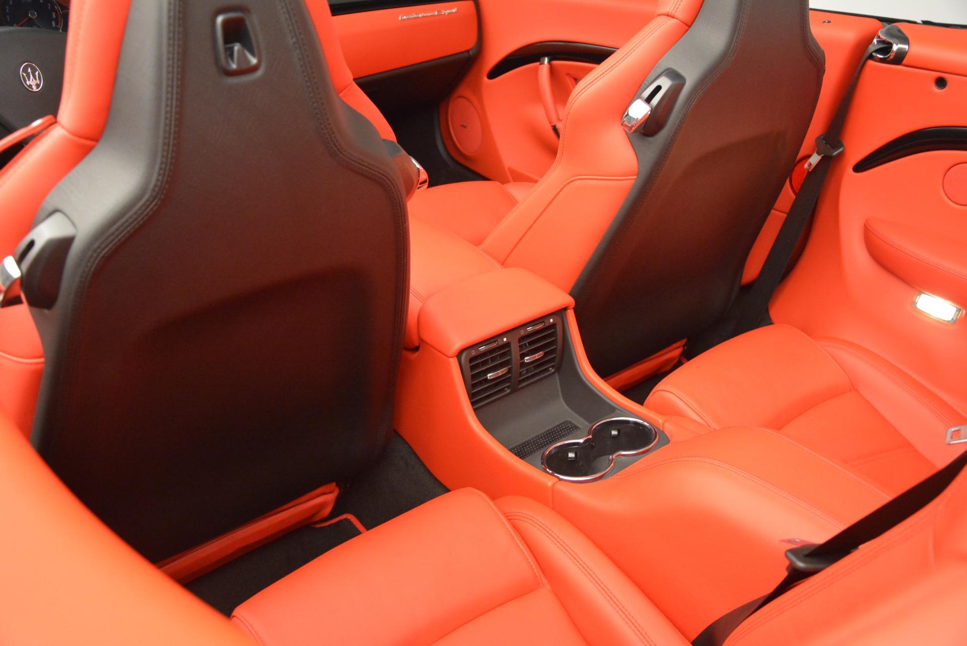 New 2016 Maserati GranTurismo Convertible Sport For Sale In Greenwich, CT. Alfa Romeo of Greenwich, M1454 155_p28