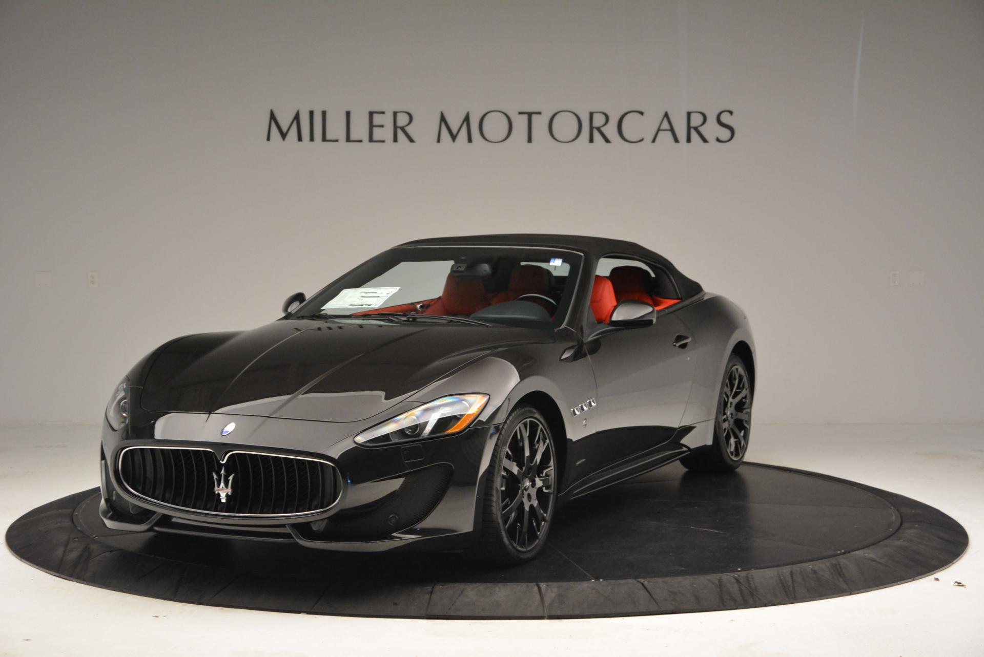 New 2016 Maserati GranTurismo Convertible Sport For Sale In Greenwich, CT. Alfa Romeo of Greenwich, M1454 155_p2