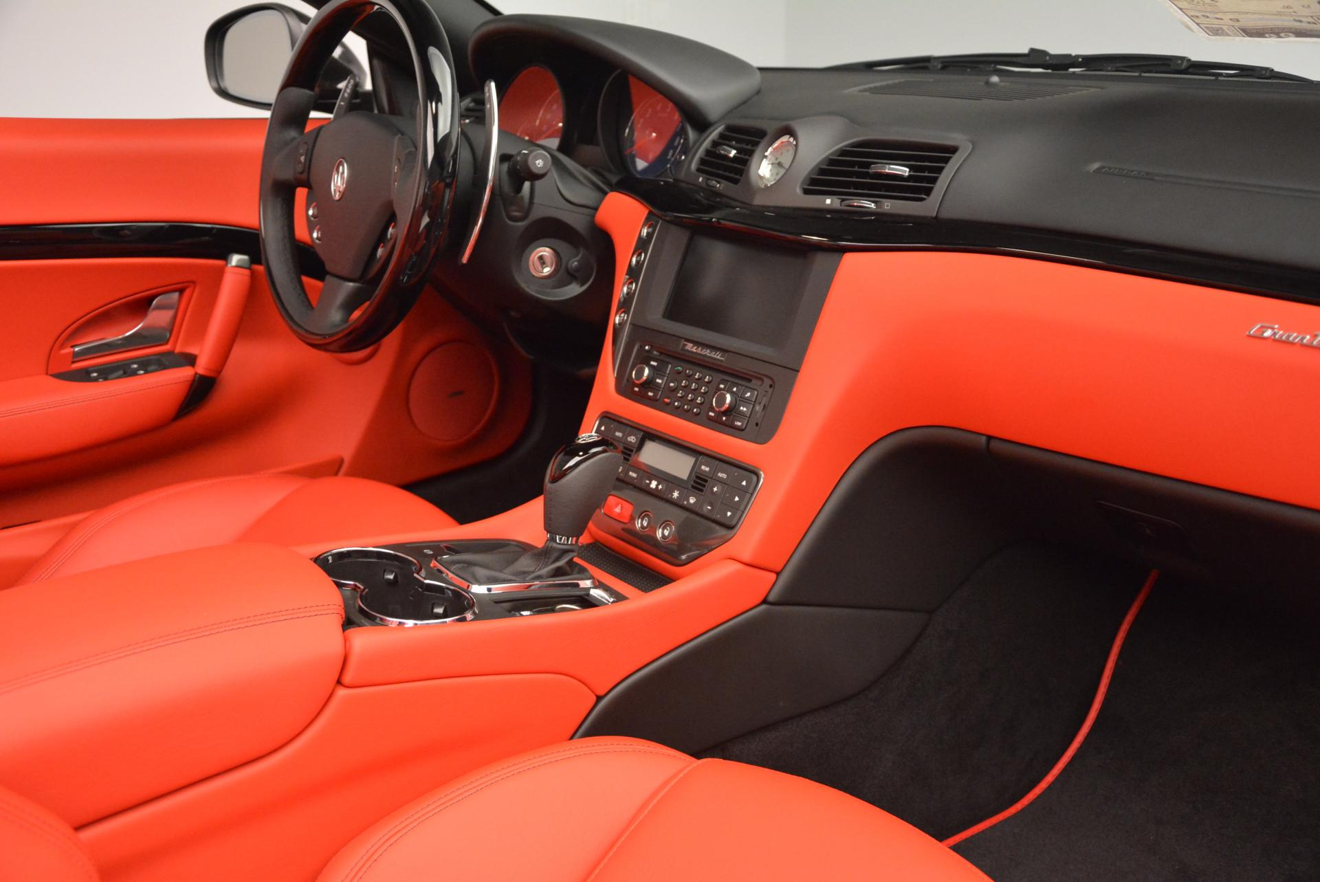 New 2016 Maserati GranTurismo Convertible Sport For Sale In Greenwich, CT. Alfa Romeo of Greenwich, M1454 155_p31