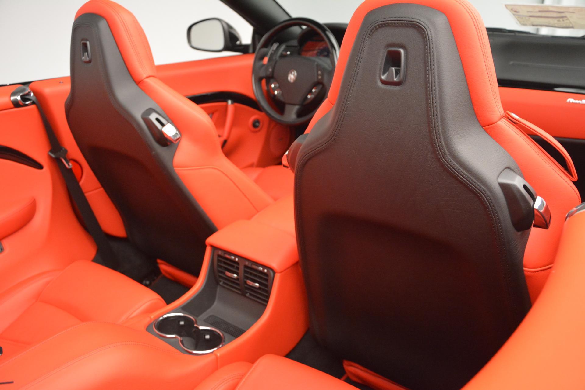 New 2016 Maserati GranTurismo Convertible Sport For Sale In Greenwich, CT. Alfa Romeo of Greenwich, M1454 155_p34
