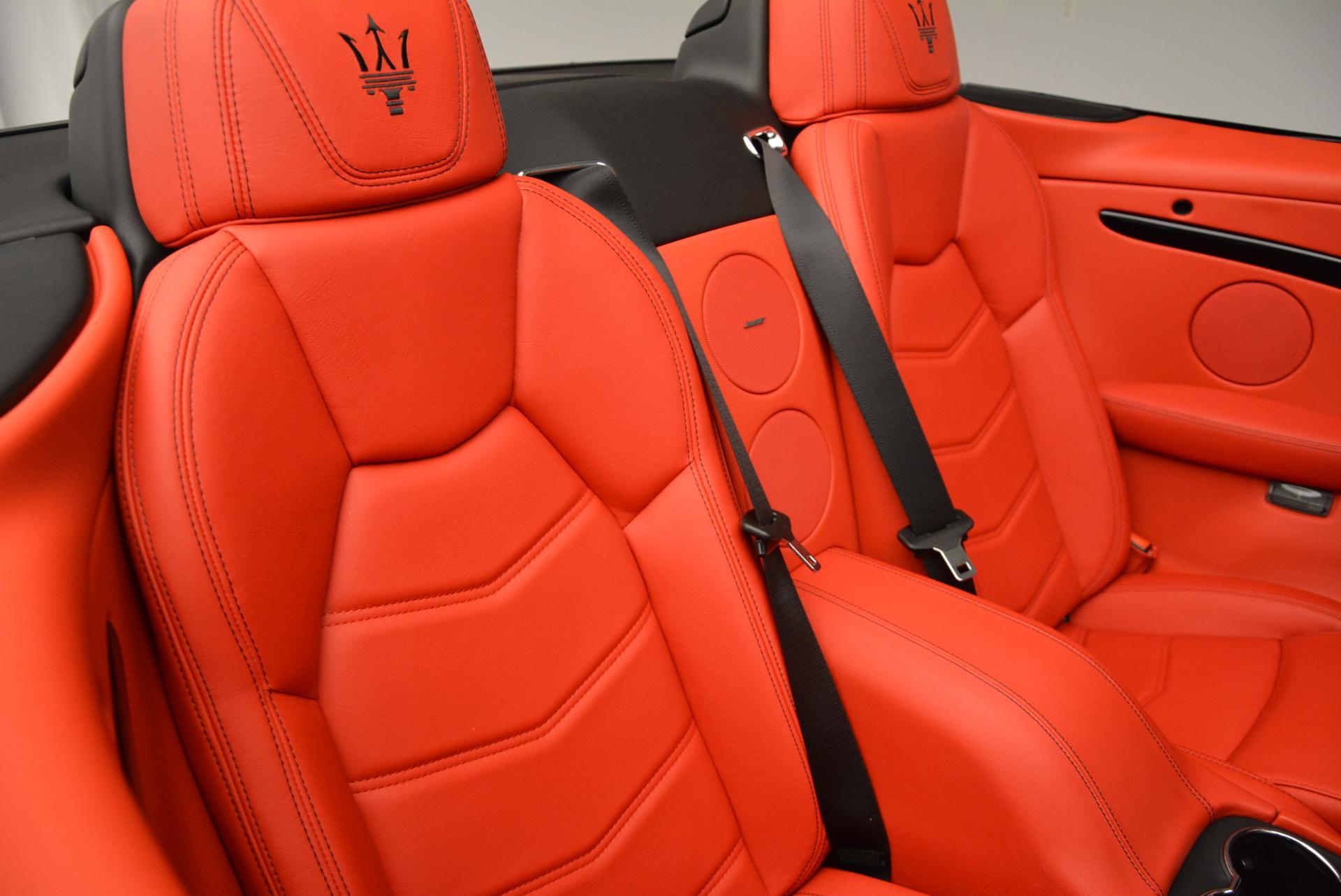 New 2016 Maserati GranTurismo Convertible Sport For Sale In Greenwich, CT. Alfa Romeo of Greenwich, M1454 155_p36