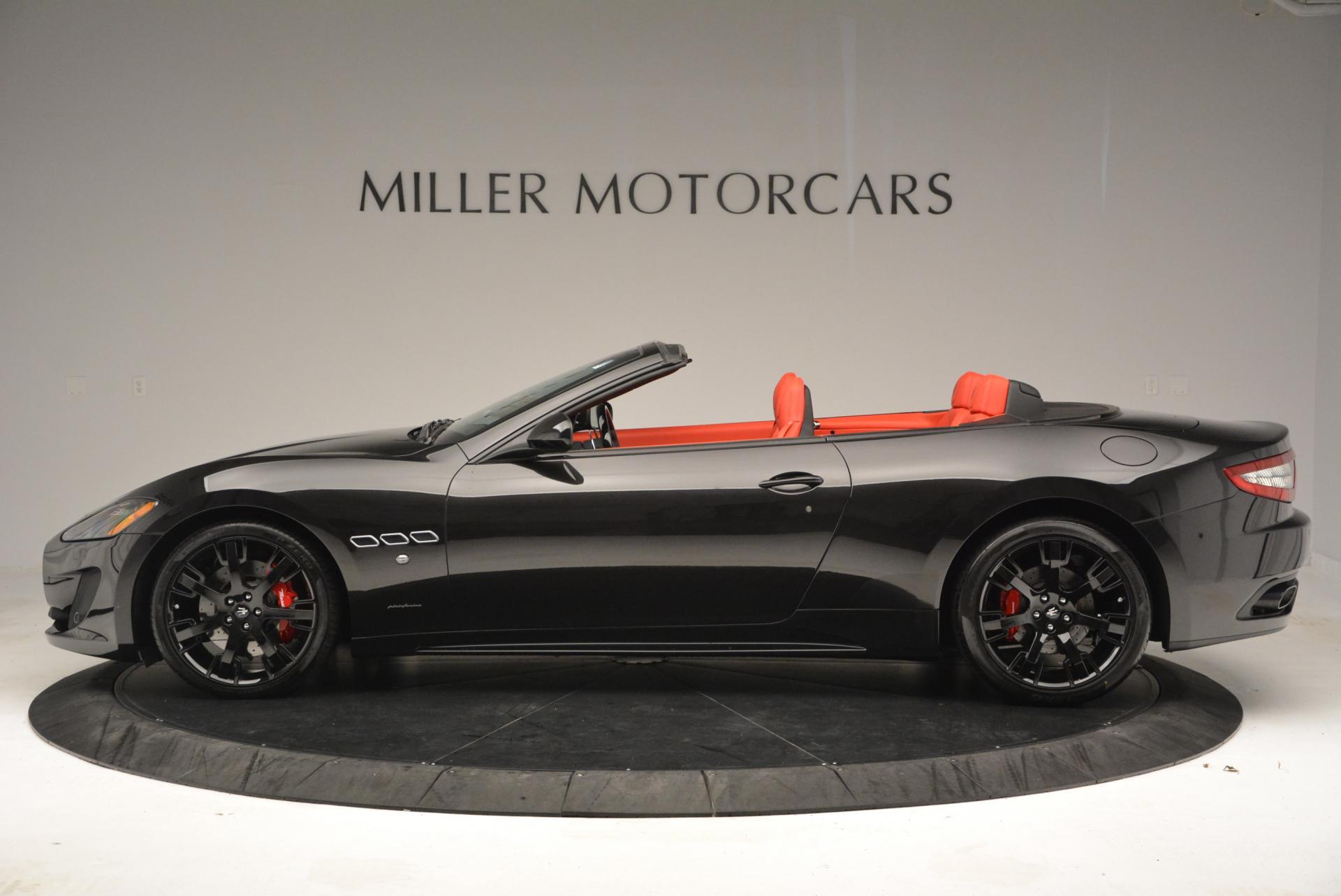 New 2016 Maserati GranTurismo Convertible Sport For Sale In Greenwich, CT. Alfa Romeo of Greenwich, M1454 155_p5