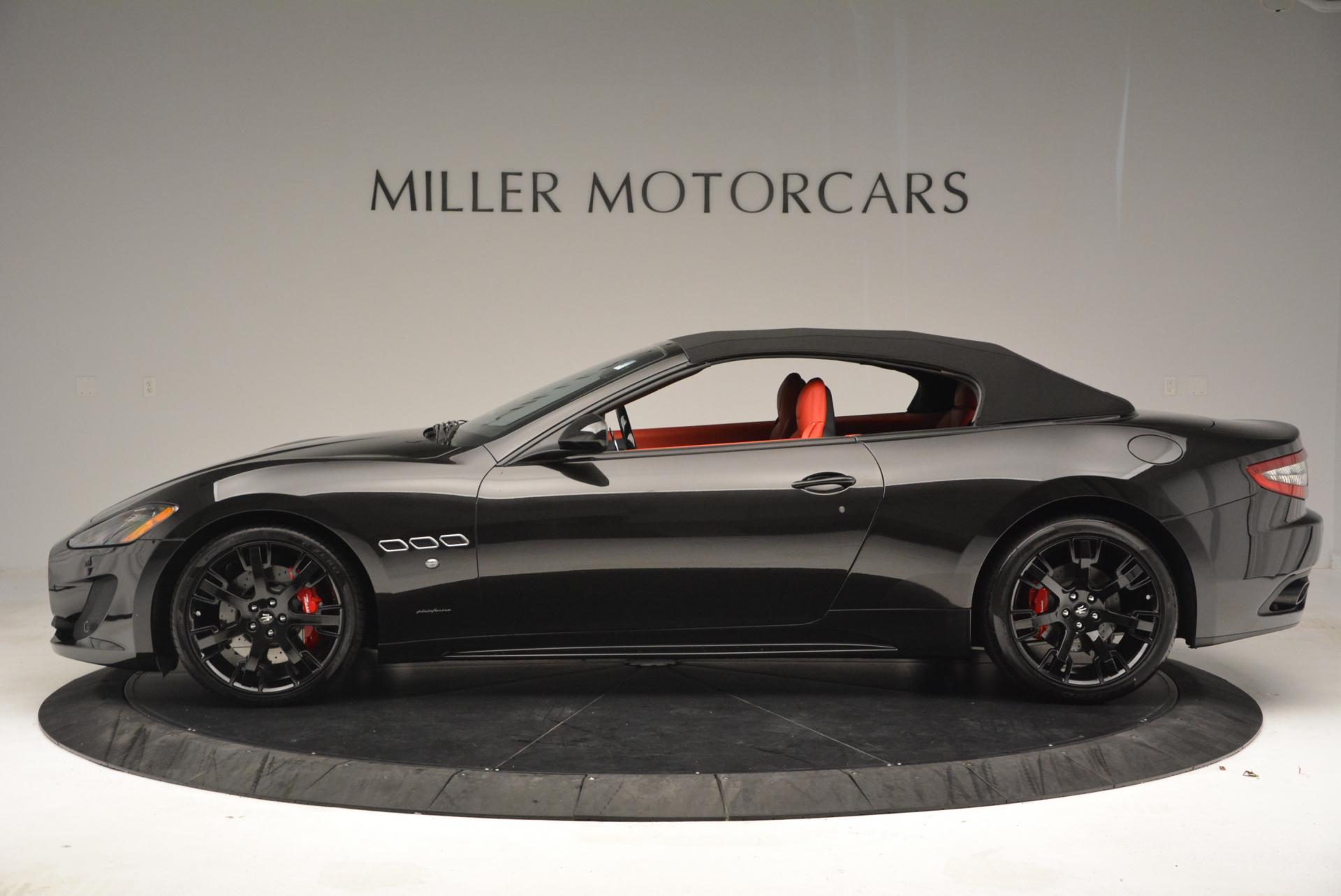 New 2016 Maserati GranTurismo Convertible Sport For Sale In Greenwich, CT. Alfa Romeo of Greenwich, M1454 155_p6