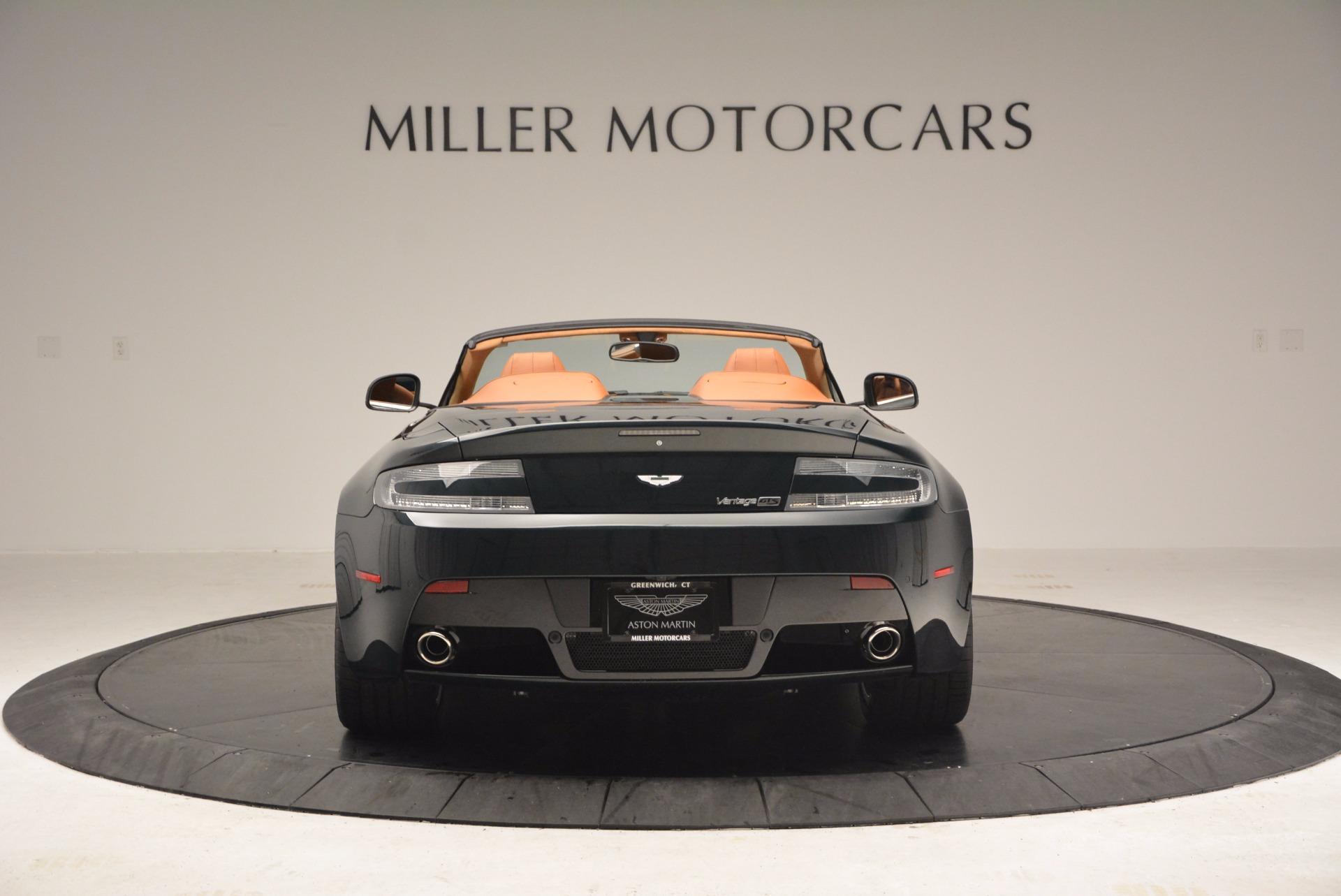 Used 2016 Aston Martin V8 Vantage S Roadster For Sale In Greenwich, CT. Alfa Romeo of Greenwich, A1183A 1550_p6