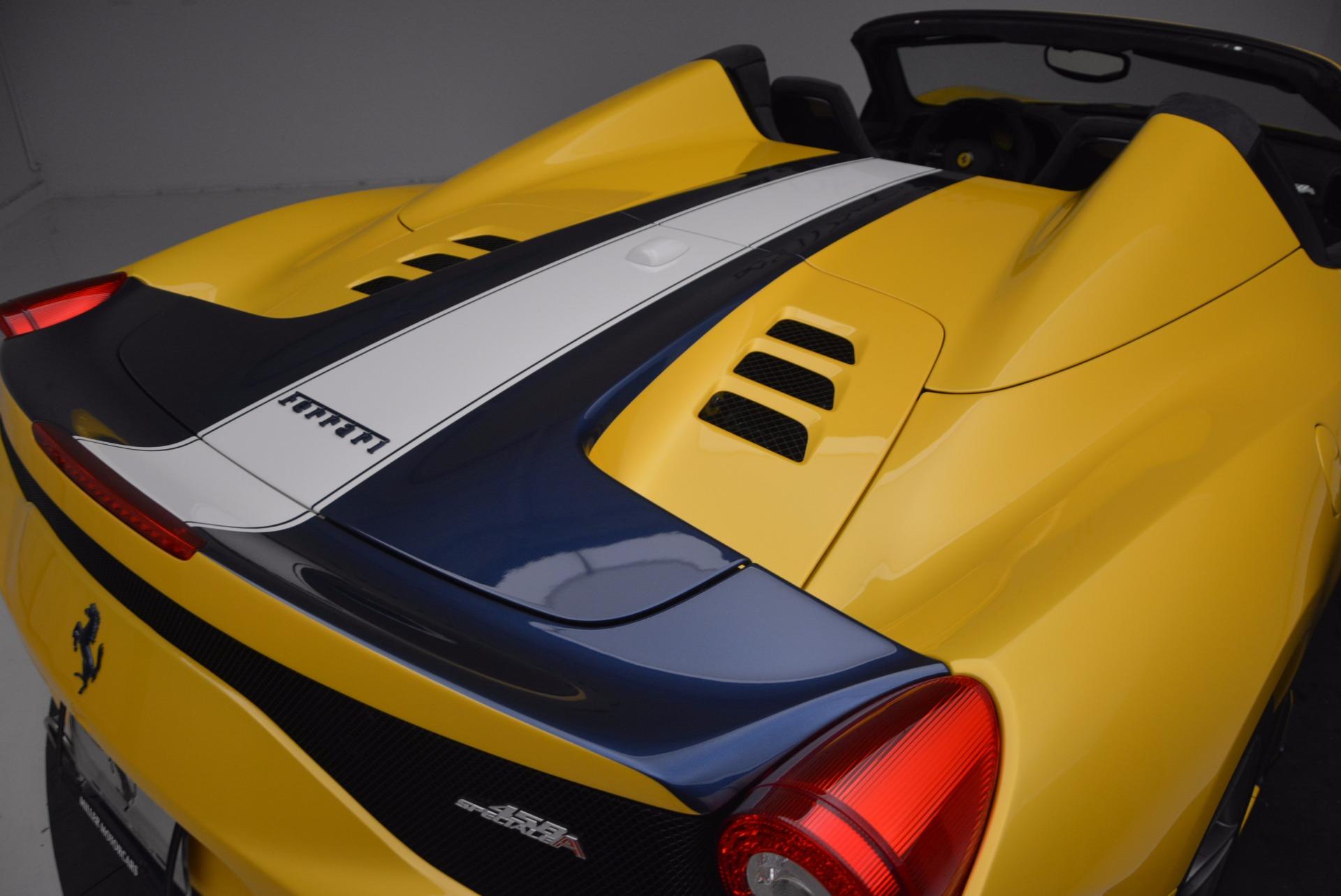 Used 2015 Ferrari 458 Speciale Aperta  For Sale In Greenwich, CT. Alfa Romeo of Greenwich, 4420C 1555_p34