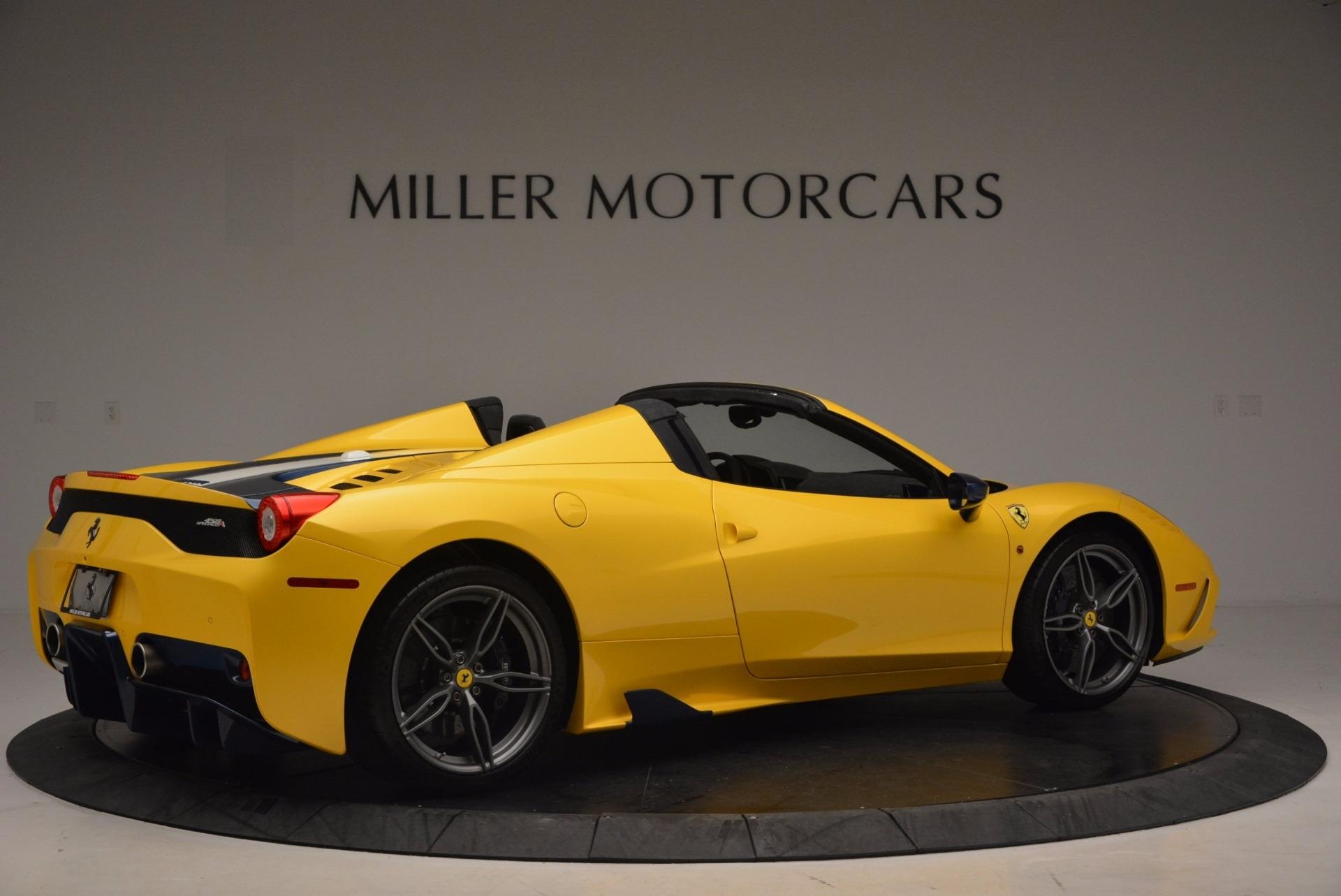 Used 2015 Ferrari 458 Speciale Aperta  For Sale In Greenwich, CT. Alfa Romeo of Greenwich, 4420C 1555_p8