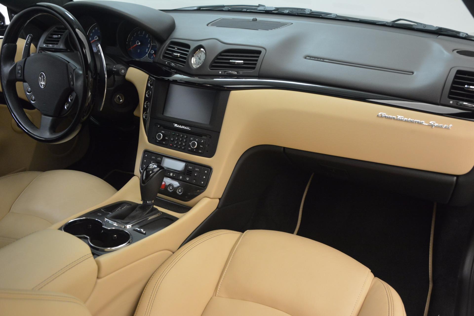Used 2015 Maserati GranTurismo Sport Coupe For Sale In Greenwich, CT. Alfa Romeo of Greenwich, W489A 1557_p22