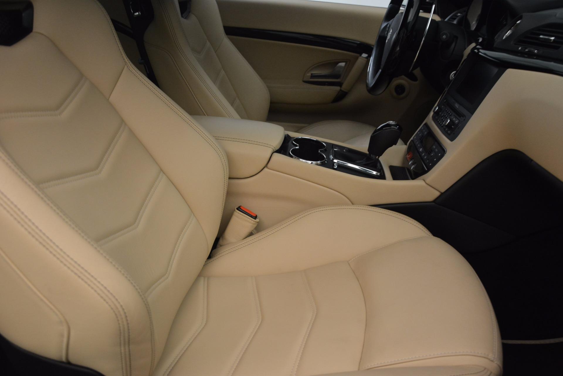 Used 2015 Maserati GranTurismo Sport Coupe For Sale In Greenwich, CT. Alfa Romeo of Greenwich, W489A 1557_p23