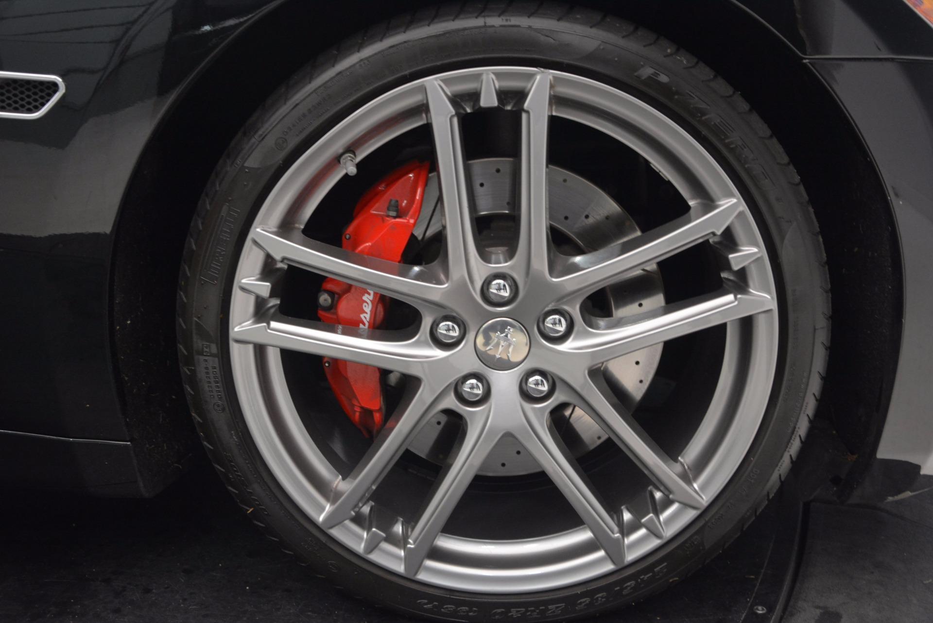 Used 2015 Maserati GranTurismo Sport Coupe For Sale In Greenwich, CT. Alfa Romeo of Greenwich, W489A 1557_p27