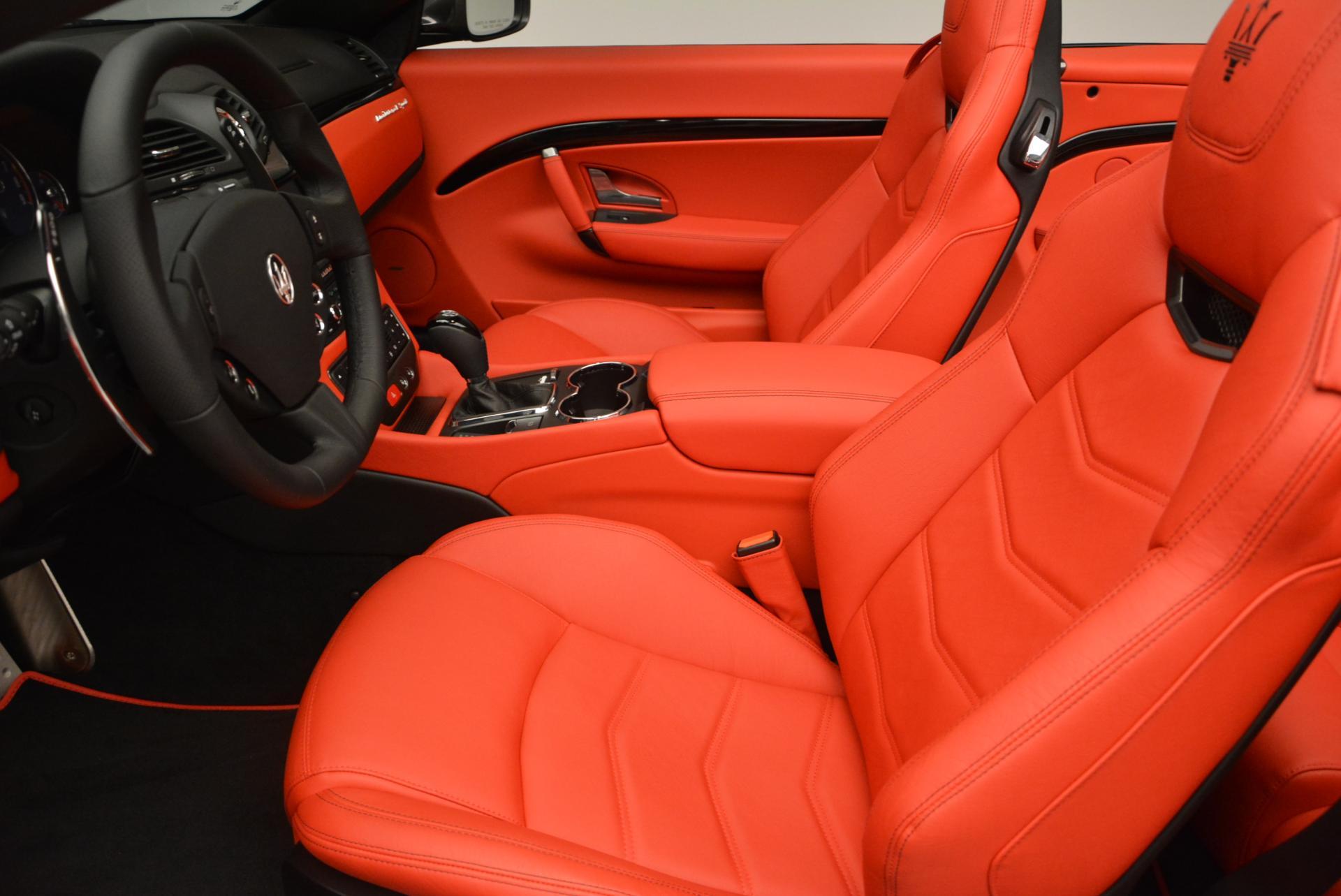 New 2017 Maserati GranTurismo Convertible Sport For Sale In Greenwich, CT. Alfa Romeo of Greenwich, M1636 156_p18