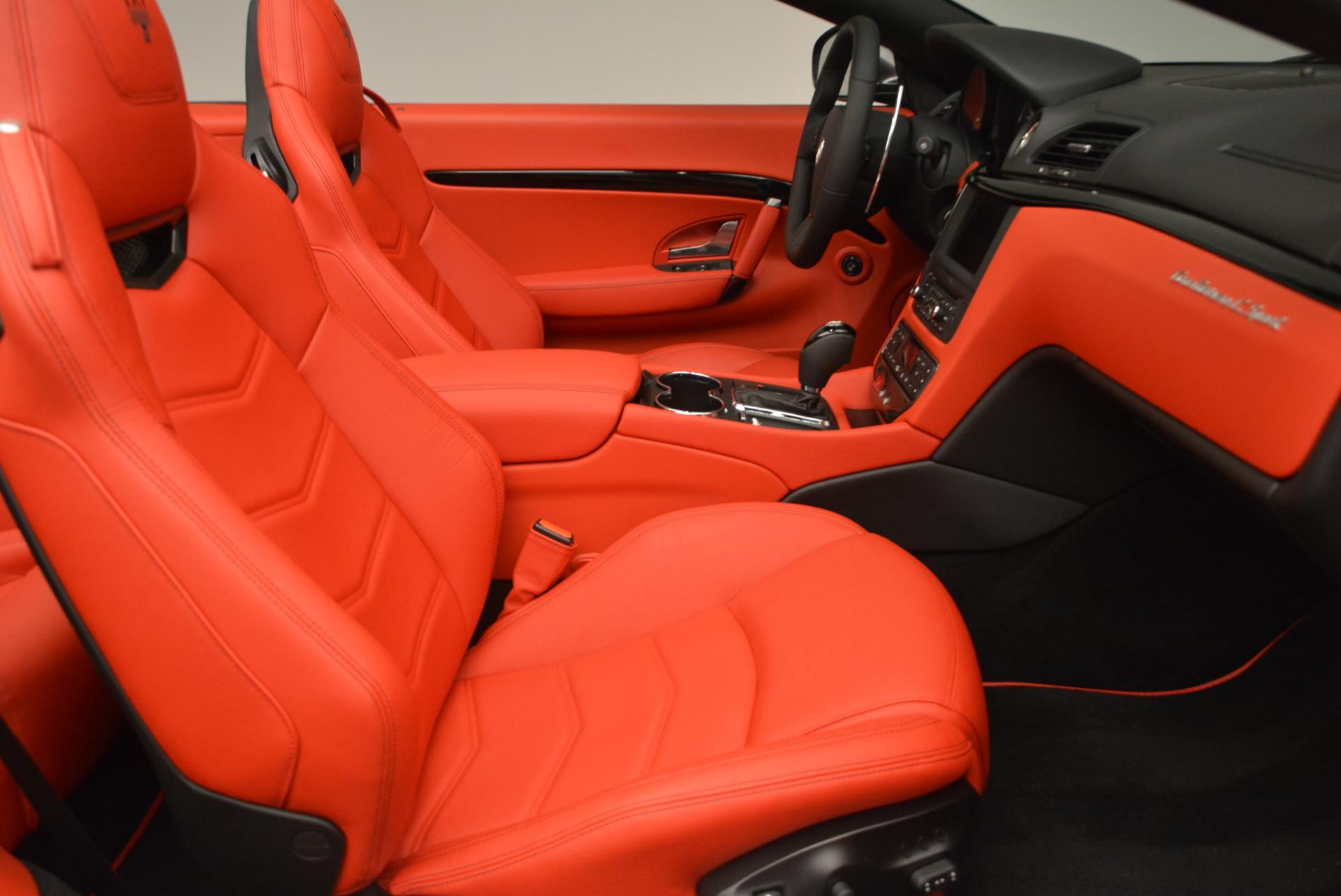 New 2017 Maserati GranTurismo Convertible Sport For Sale In Greenwich, CT. Alfa Romeo of Greenwich, M1636 156_p24