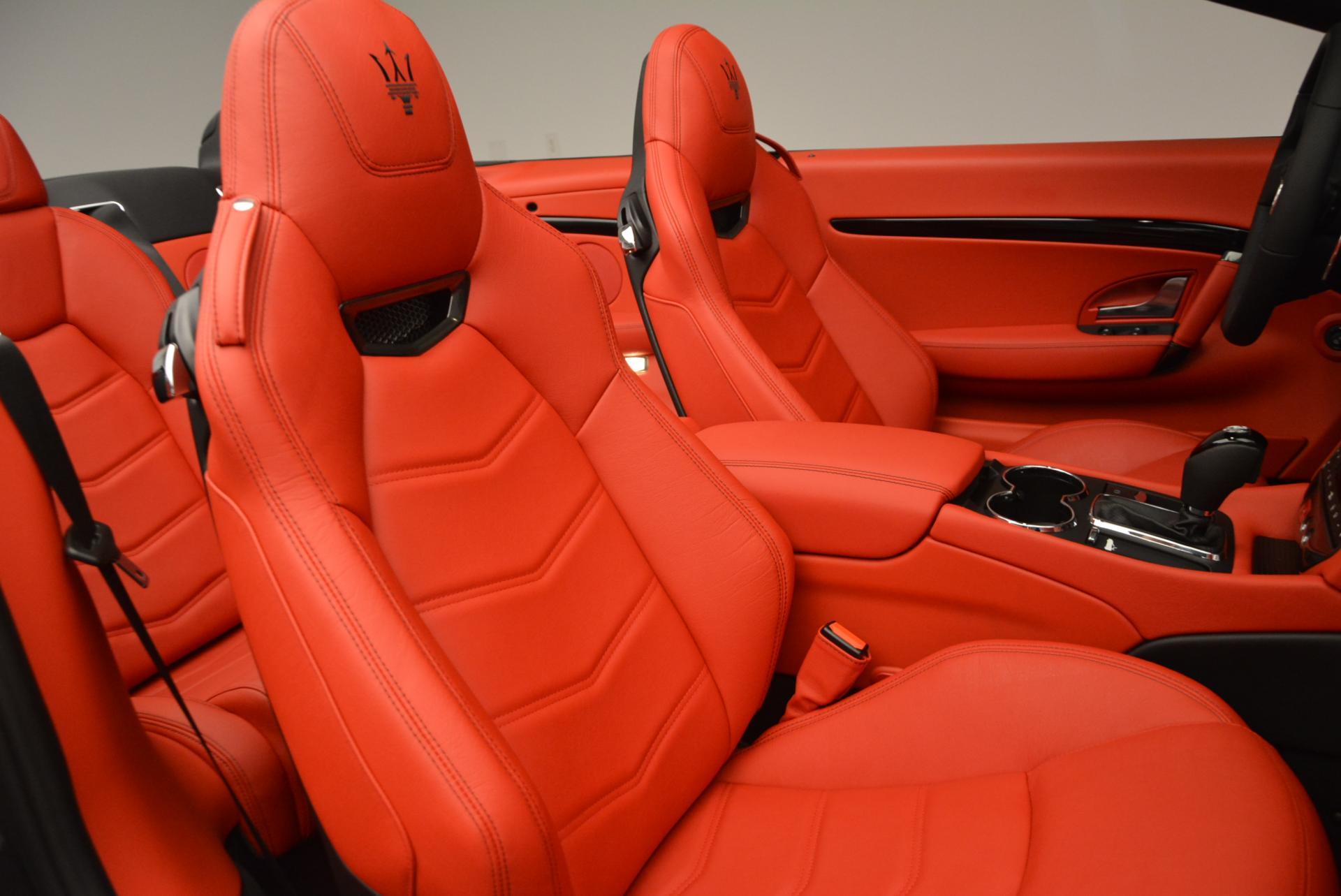 New 2017 Maserati GranTurismo Convertible Sport For Sale In Greenwich, CT. Alfa Romeo of Greenwich, M1636 156_p25