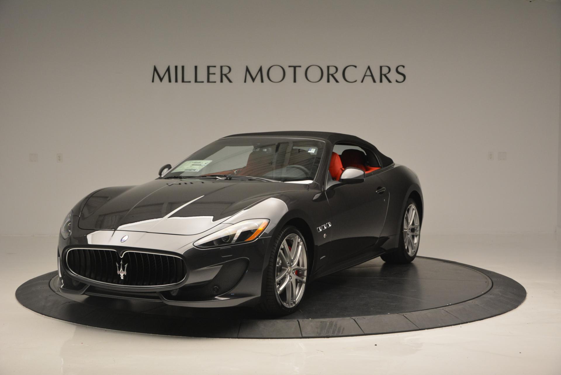New 2017 Maserati GranTurismo Convertible Sport For Sale In Greenwich, CT. Alfa Romeo of Greenwich, M1636 156_p2