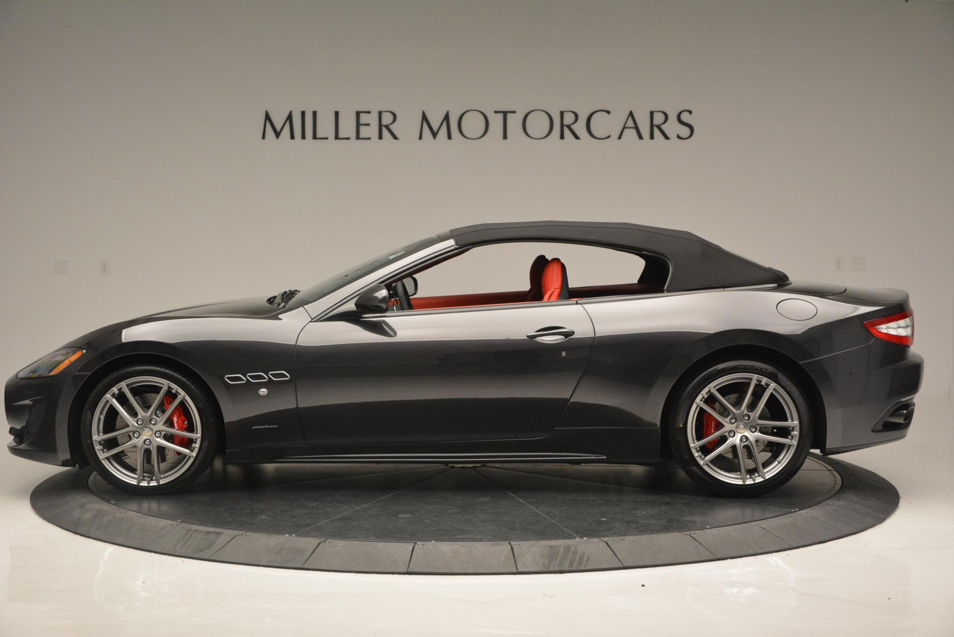 New 2017 Maserati GranTurismo Convertible Sport For Sale In Greenwich, CT. Alfa Romeo of Greenwich, M1636 156_p6