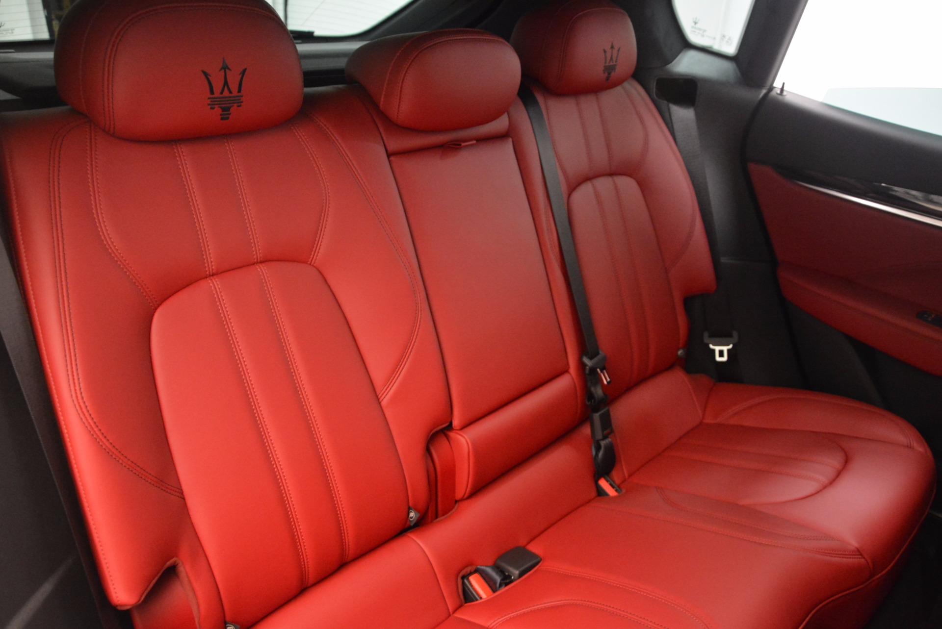 New 2018 Maserati Levante Q4 GranSport For Sale In Greenwich, CT. Alfa Romeo of Greenwich, M1942 1563_p24