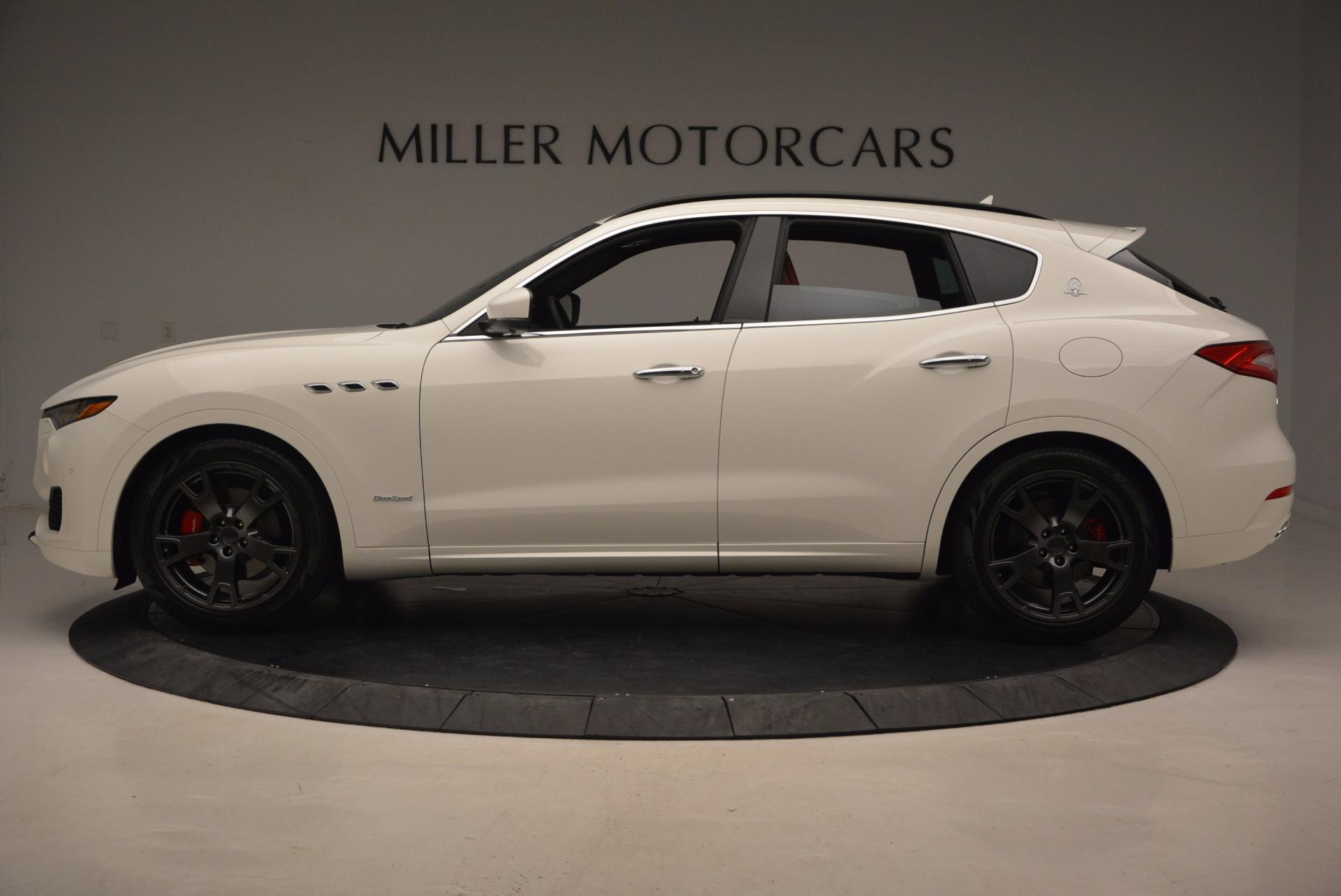 New 2018 Maserati Levante Q4 GranSport For Sale In Greenwich, CT. Alfa Romeo of Greenwich, M1942 1563_p3