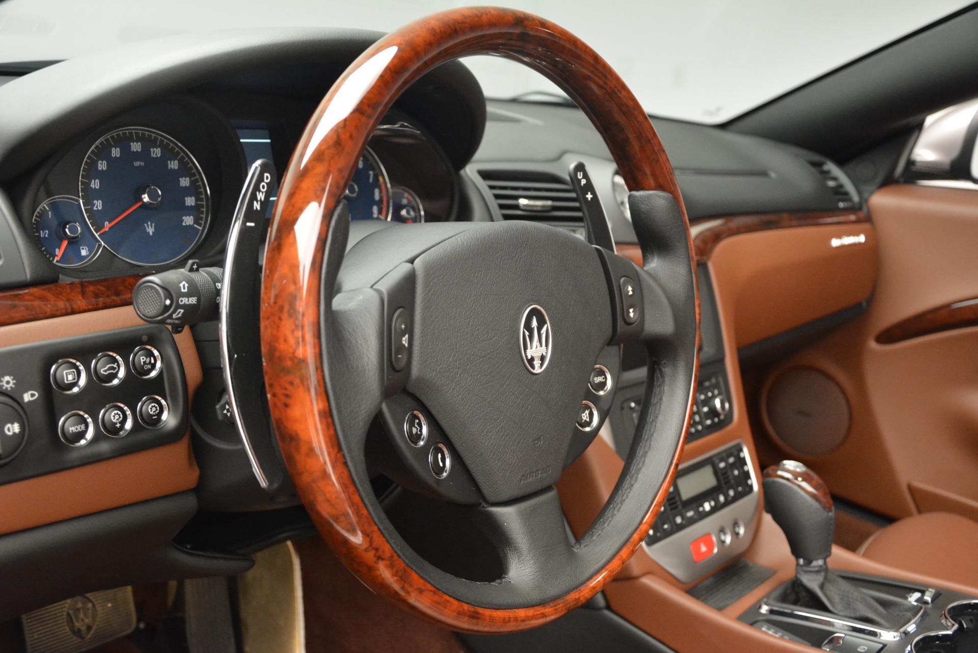 Used 2012 Maserati GranTurismo  For Sale In Greenwich, CT. Alfa Romeo of Greenwich, B1127A 157_p24