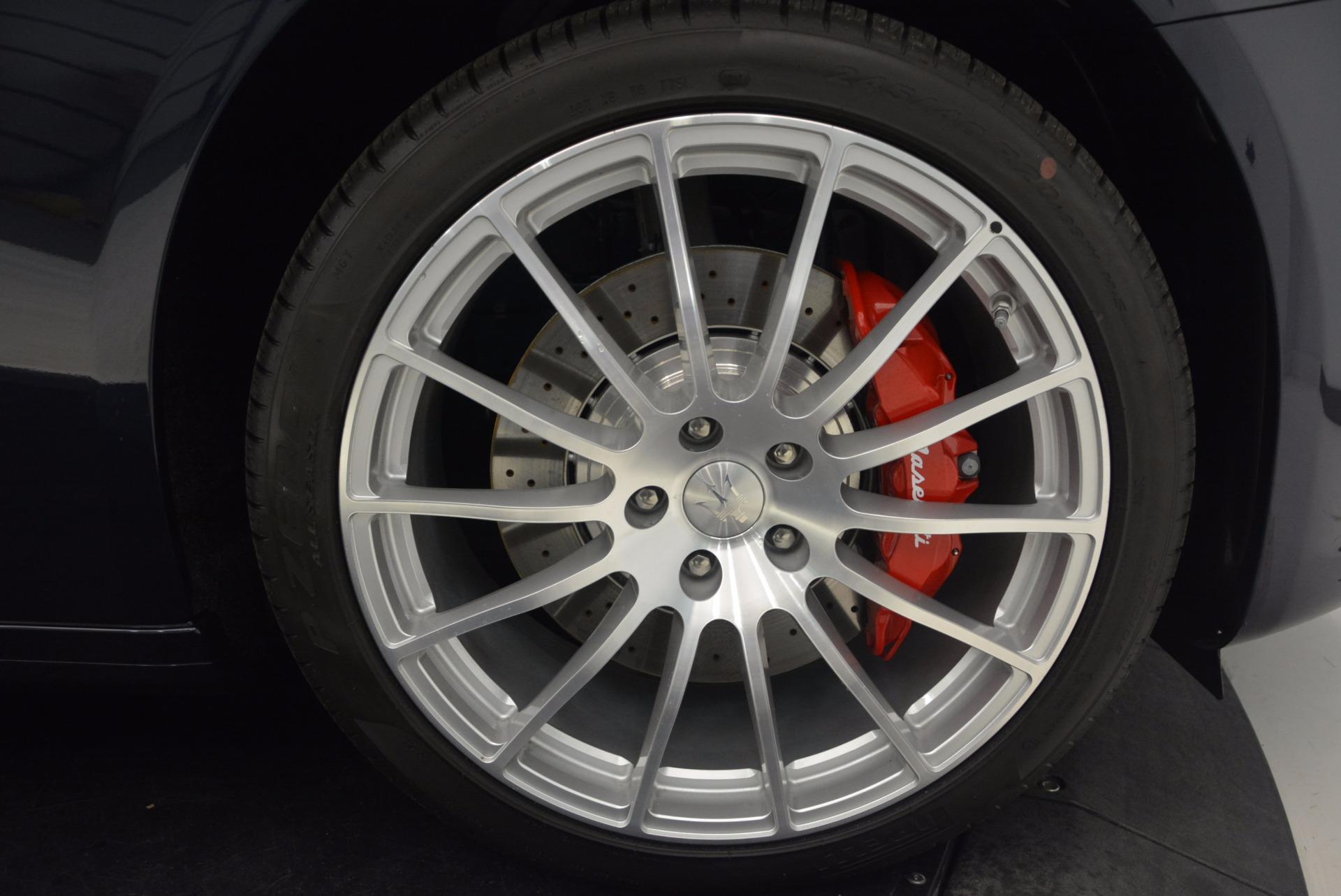 Used 2018 Maserati Quattroporte S Q4 GranLusso For Sale In Greenwich, CT. Alfa Romeo of Greenwich, W658A 1572_p25