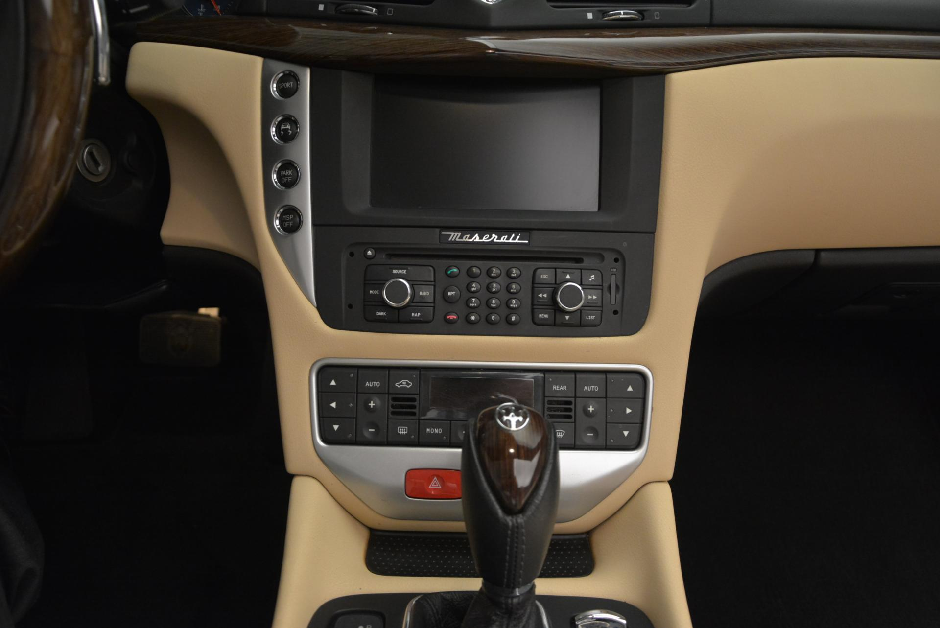Used 2011 Maserati GranTurismo Base For Sale In Greenwich, CT. Alfa Romeo of Greenwich, F1710A 158_p37