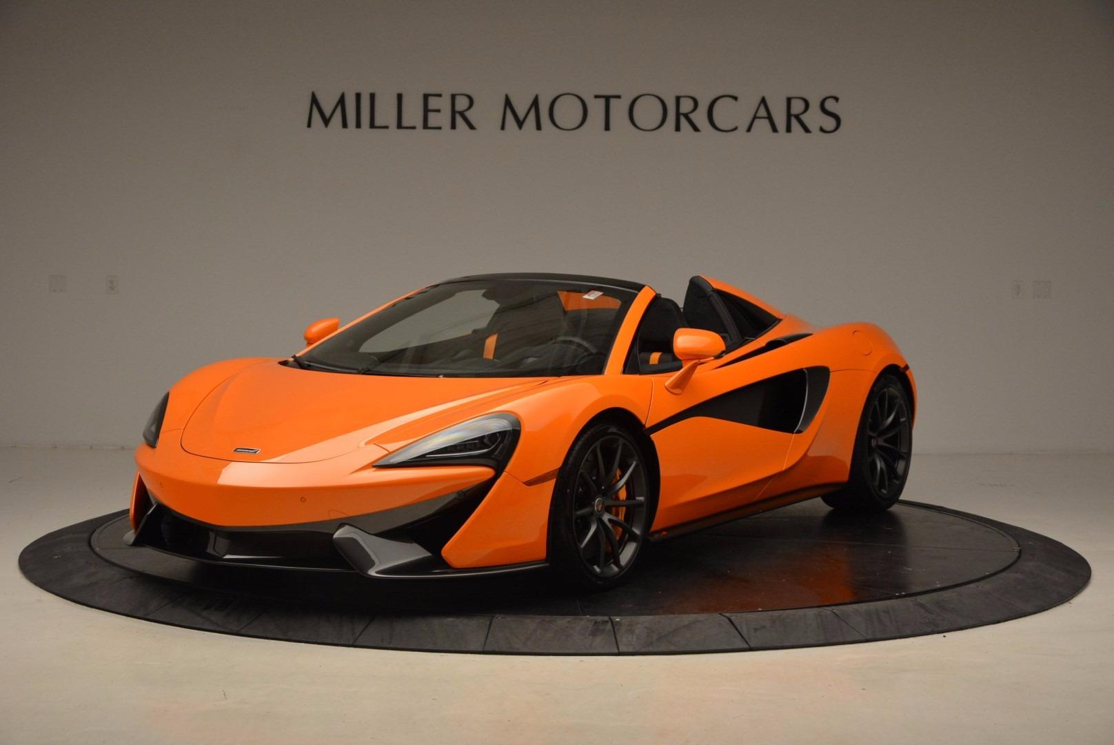 New 2018 McLaren 570S Spider  For Sale In Greenwich, CT. Alfa Romeo of Greenwich, MC315 1580_main