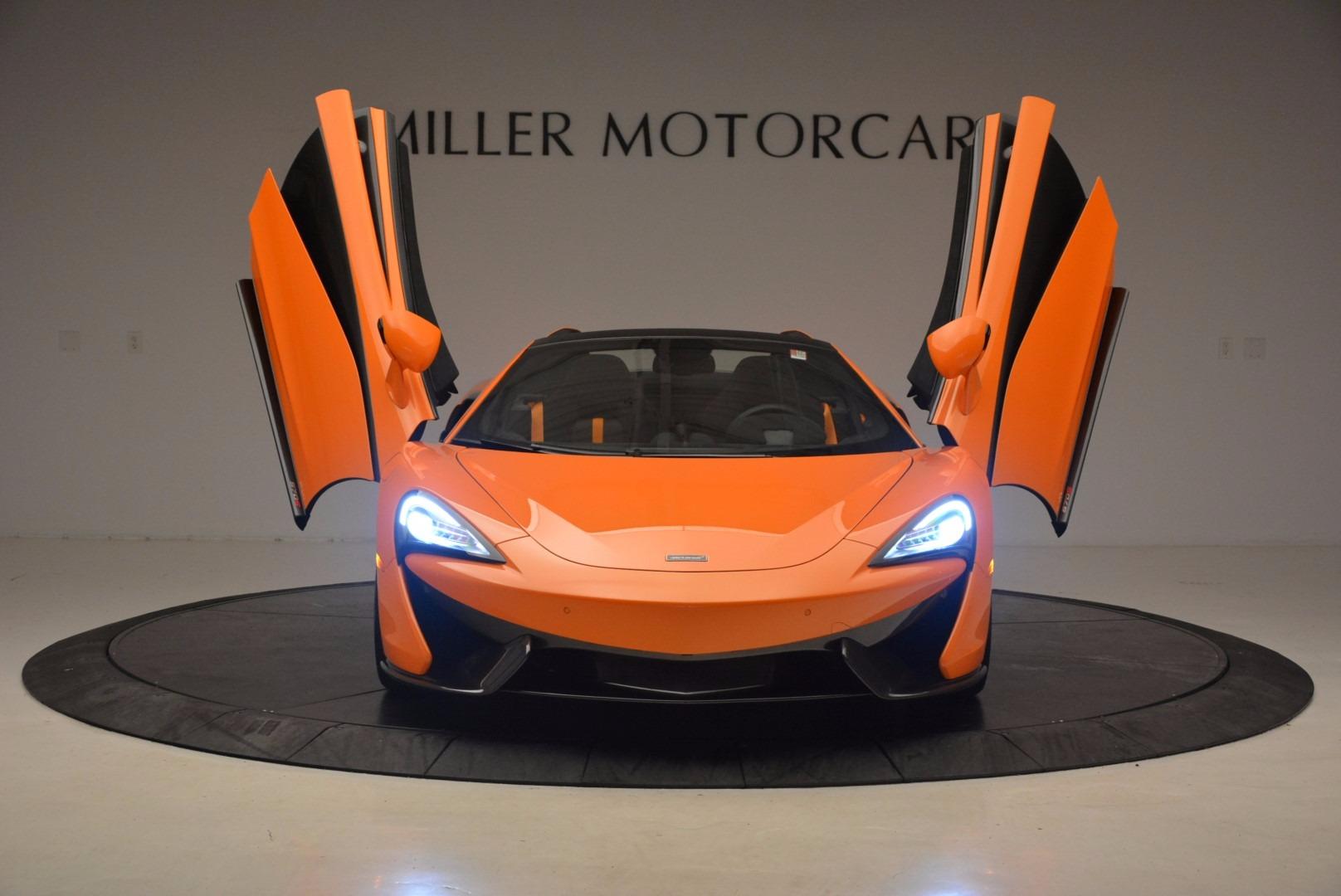 New 2018 McLaren 570S Spider  For Sale In Greenwich, CT. Alfa Romeo of Greenwich, MC315 1580_p13