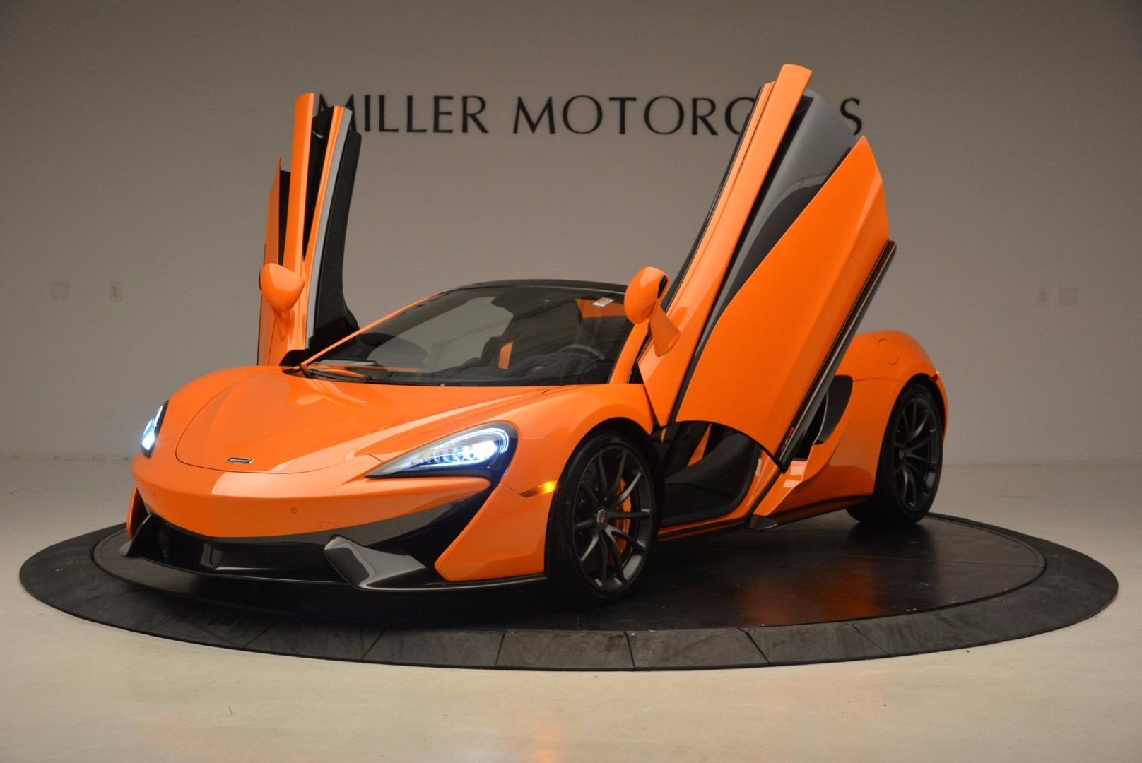 New 2018 McLaren 570S Spider  For Sale In Greenwich, CT. Alfa Romeo of Greenwich, MC315 1580_p14