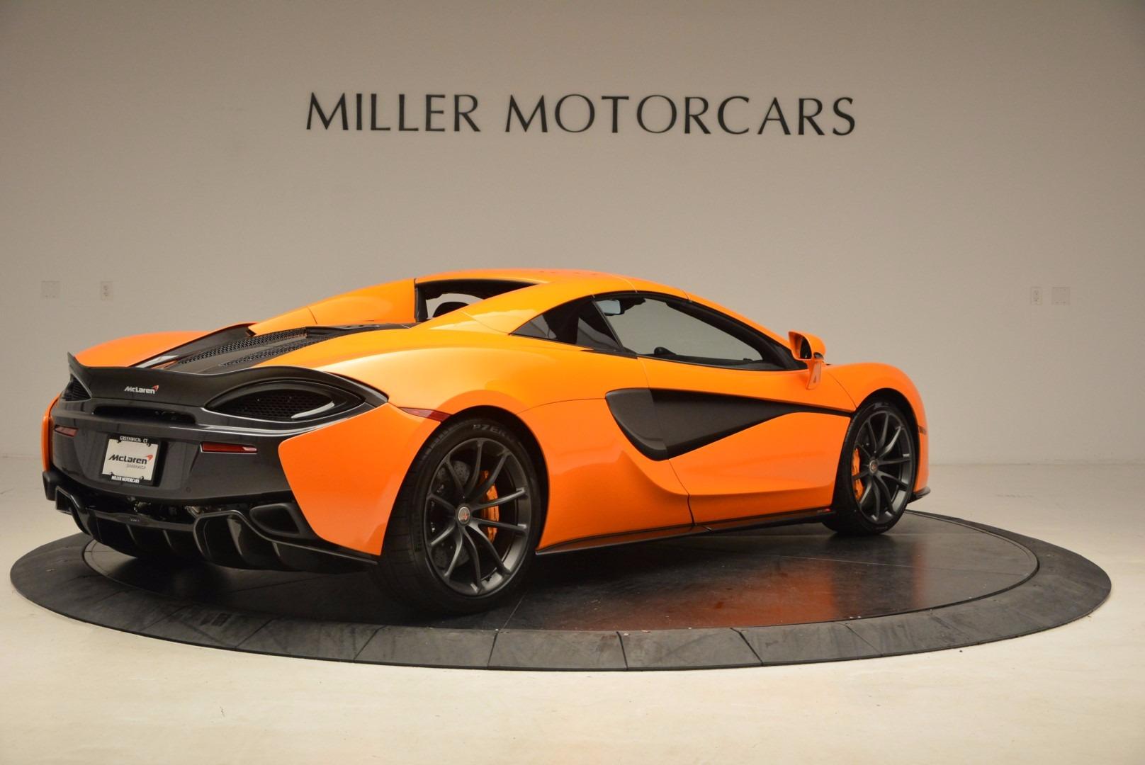New 2018 McLaren 570S Spider  For Sale In Greenwich, CT. Alfa Romeo of Greenwich, MC315 1580_p19